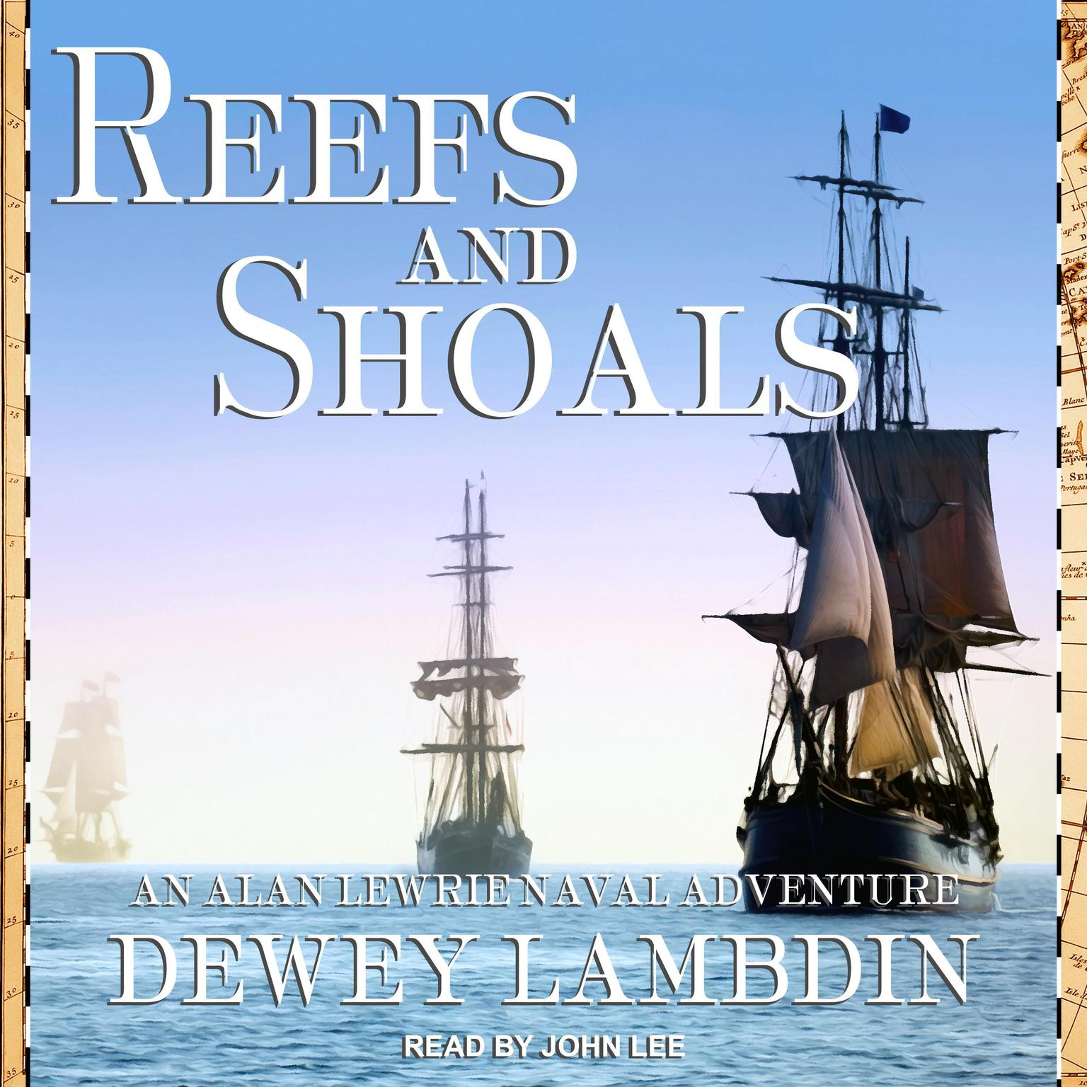 Printable Reefs and Shoals Audiobook Cover Art