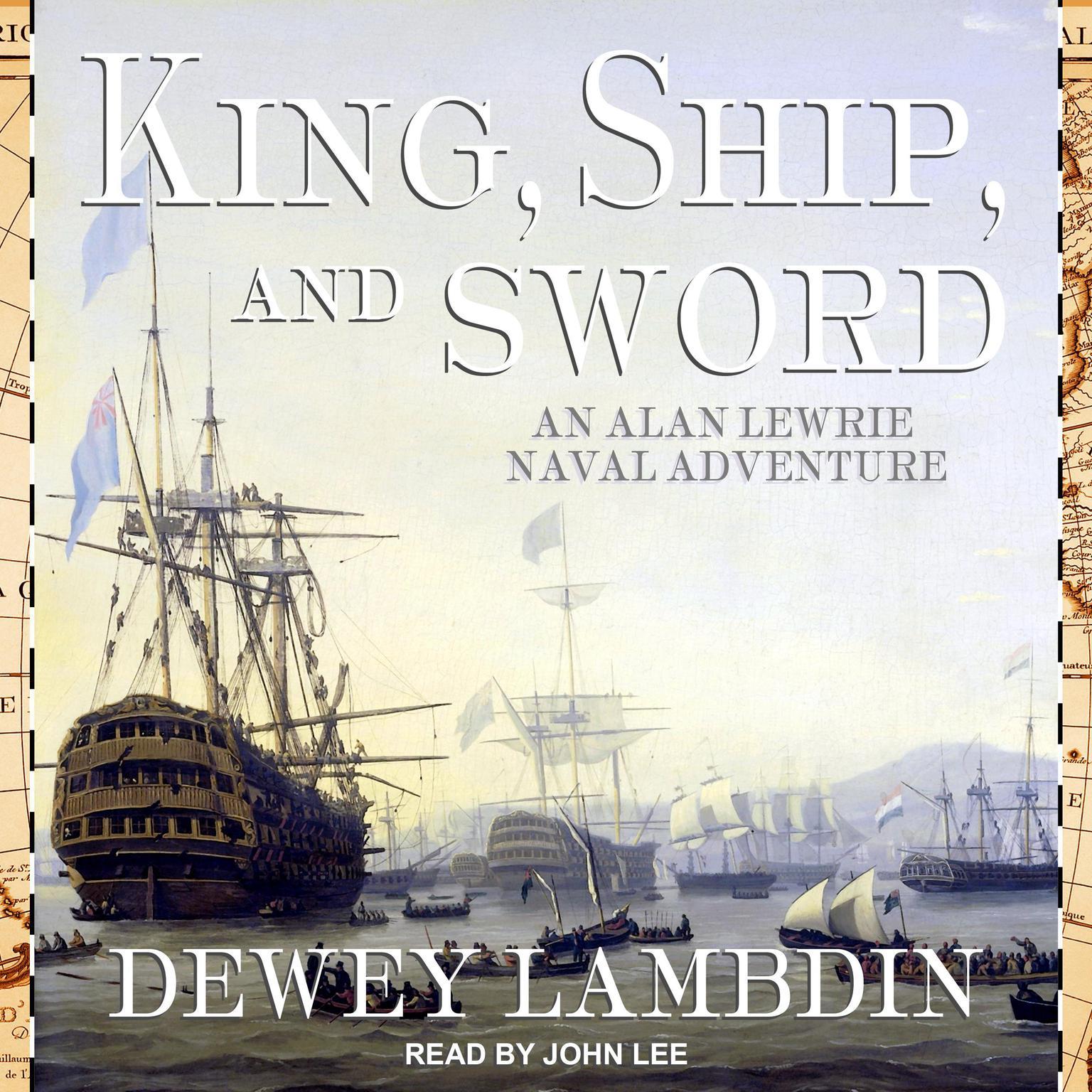 Printable King, Ship, and Sword Audiobook Cover Art