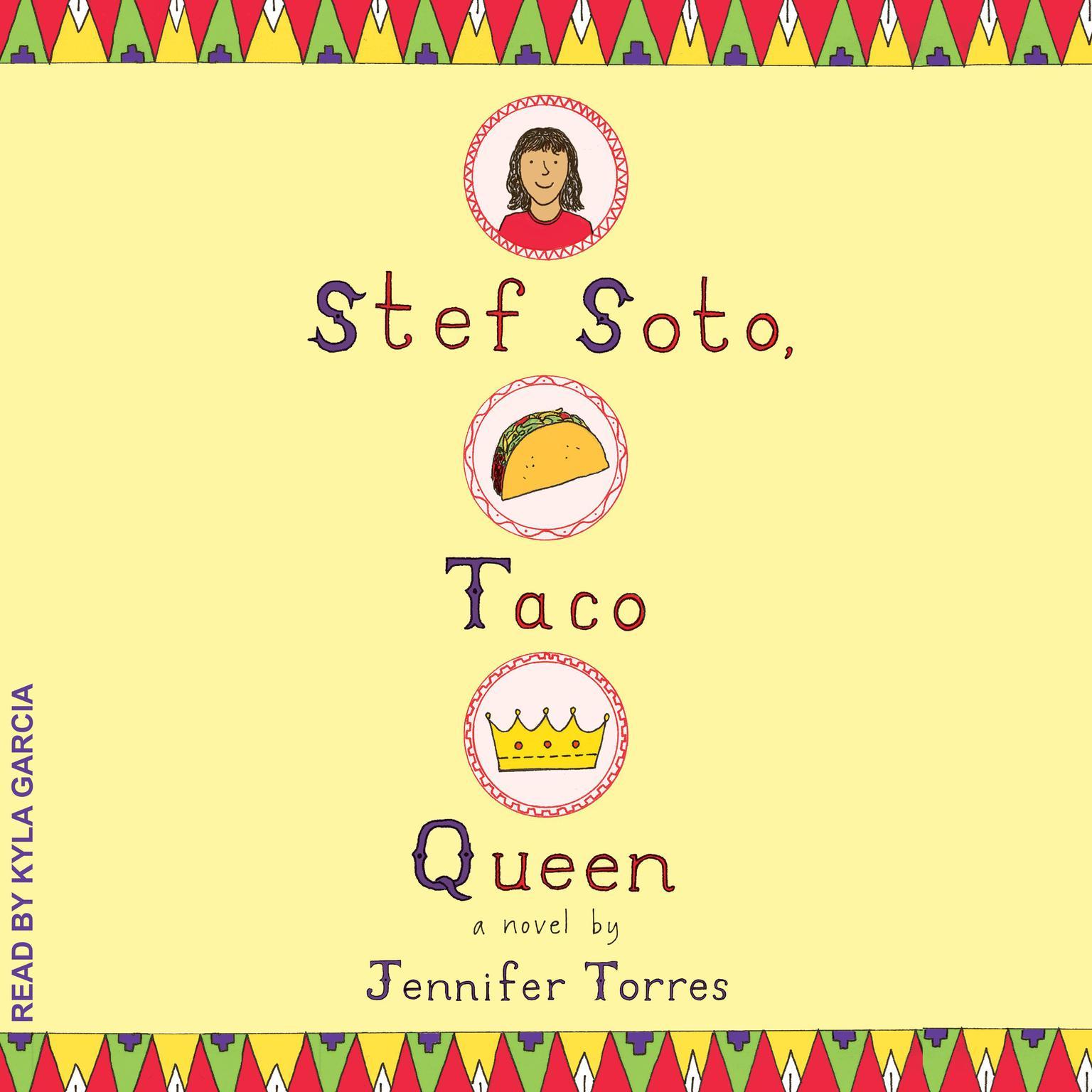 Printable Stef Soto, Taco Queen Audiobook Cover Art