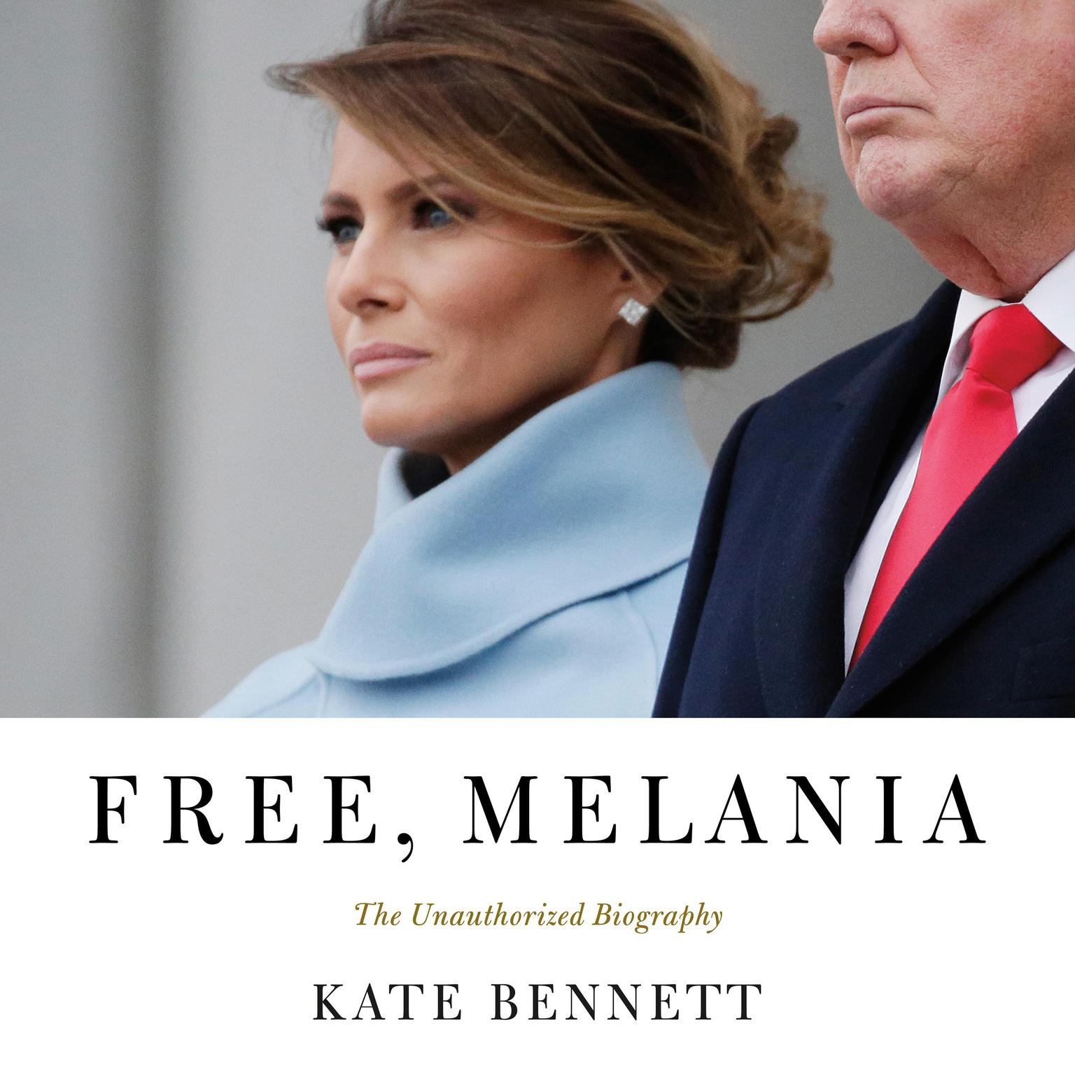 Printable Free, Melania: The Unauthorized Biography Audiobook Cover Art