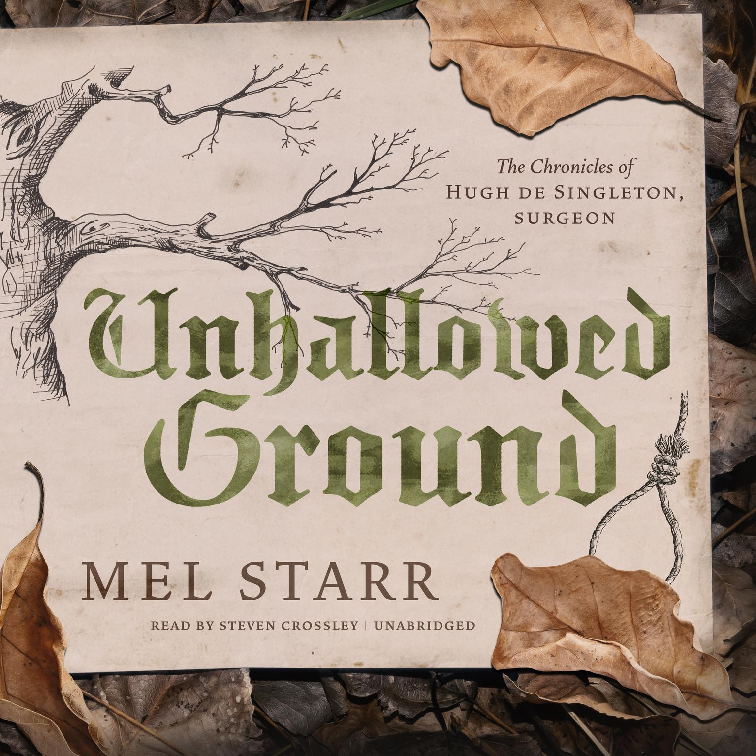 Unhallowed Ground Audiobook, by Mel Starr