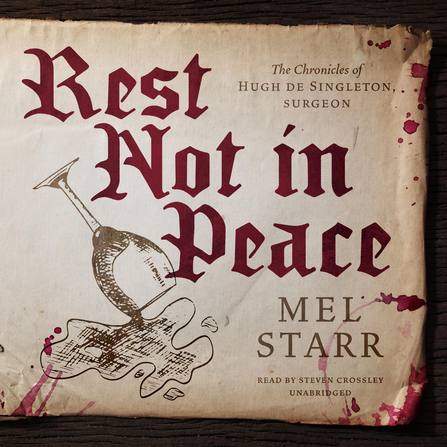Rest Not in Peace Audiobook, by Mel Starr