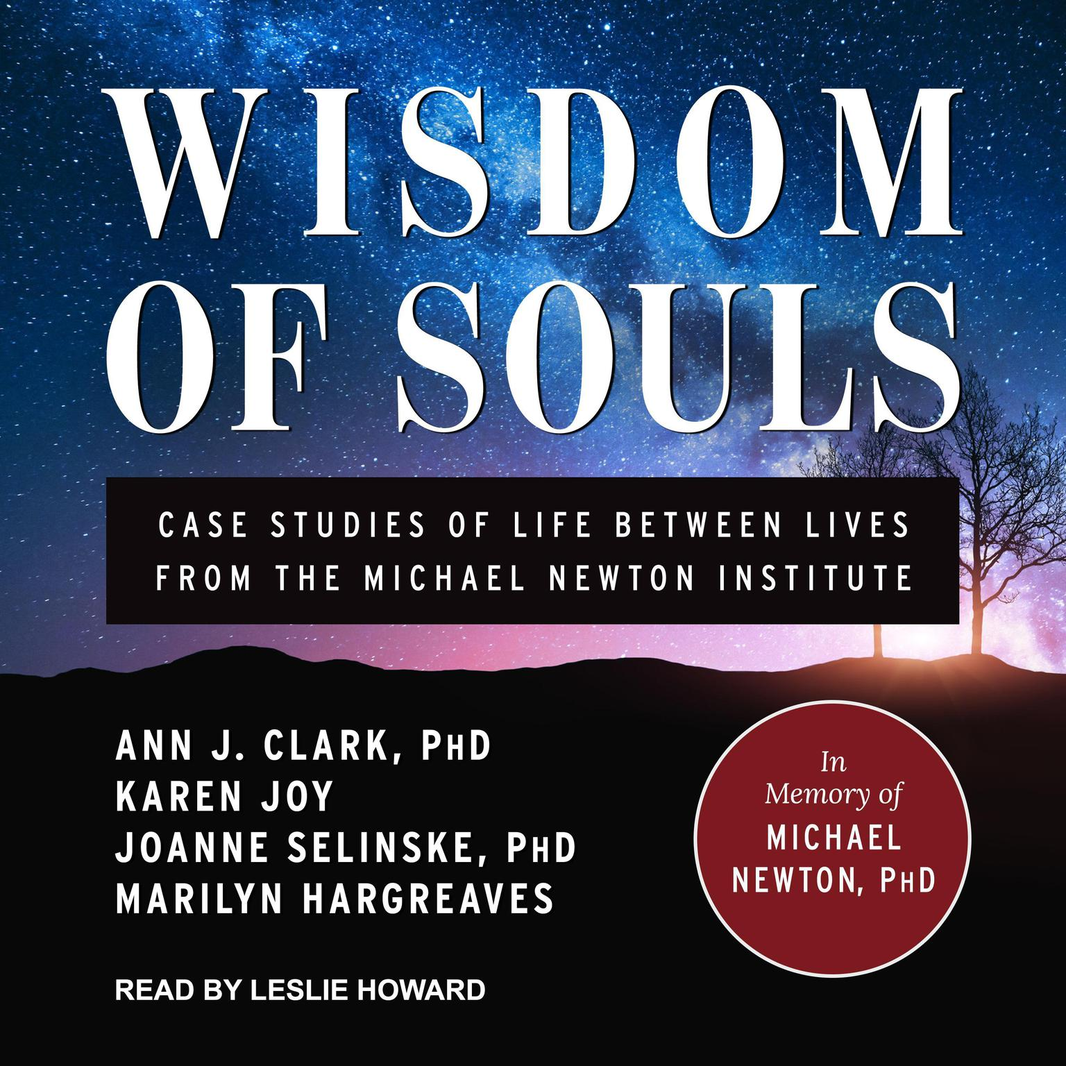 Printable Wisdom of Souls: Case Studies of Life Between Lives From The Michael Newton Institute Audiobook Cover Art