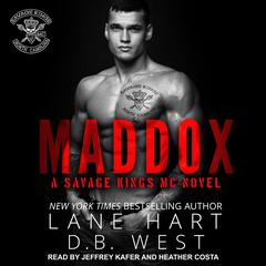 Maddox Audiobook, by D.B. West, Lane Hart