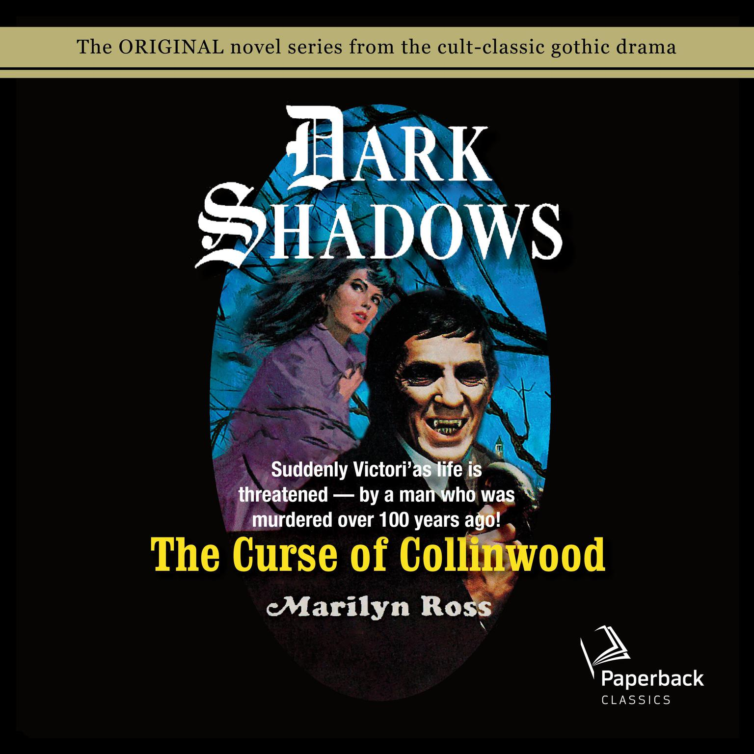 Printable The Curse of Collinwood Audiobook Cover Art