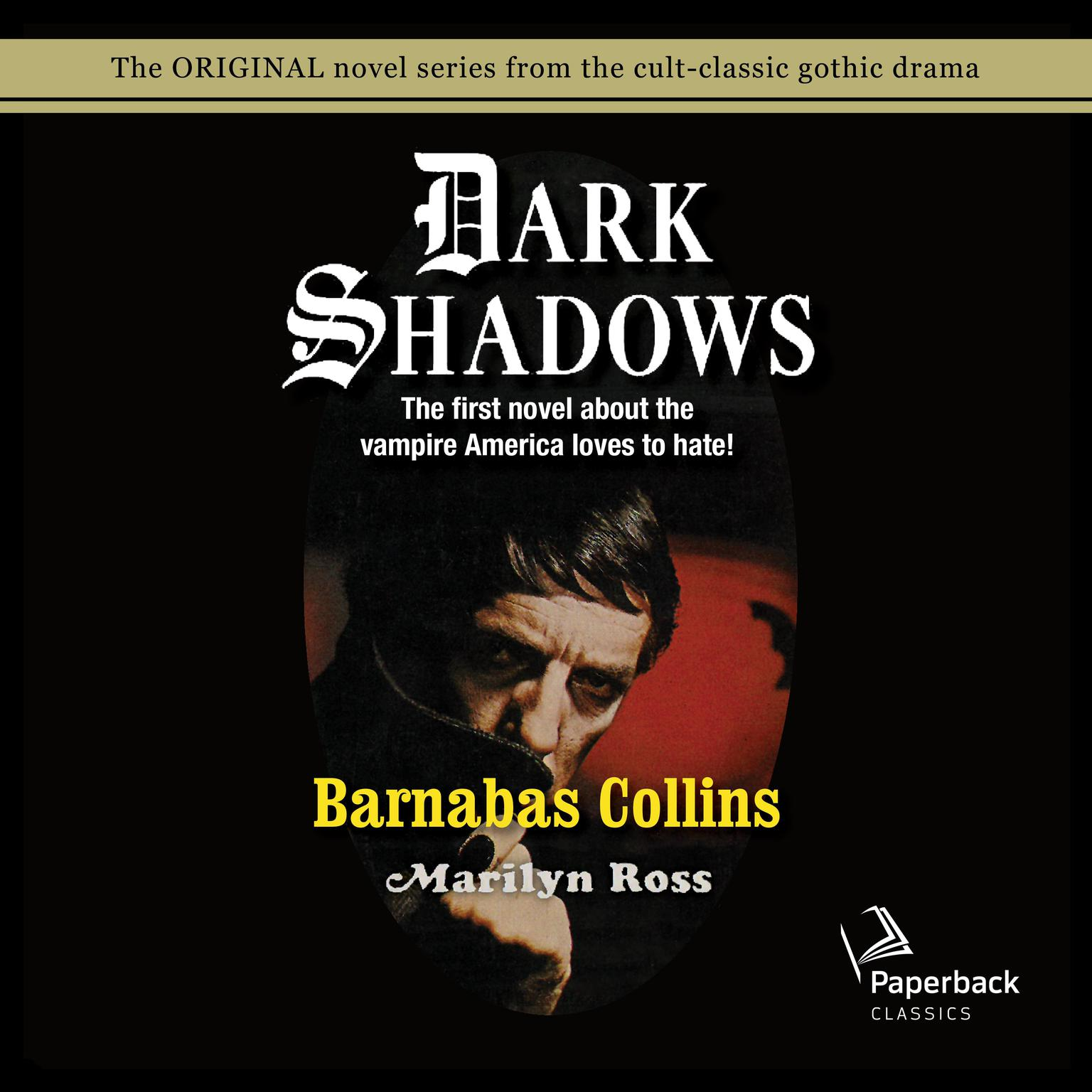 Printable Barnabas Collins Audiobook Cover Art