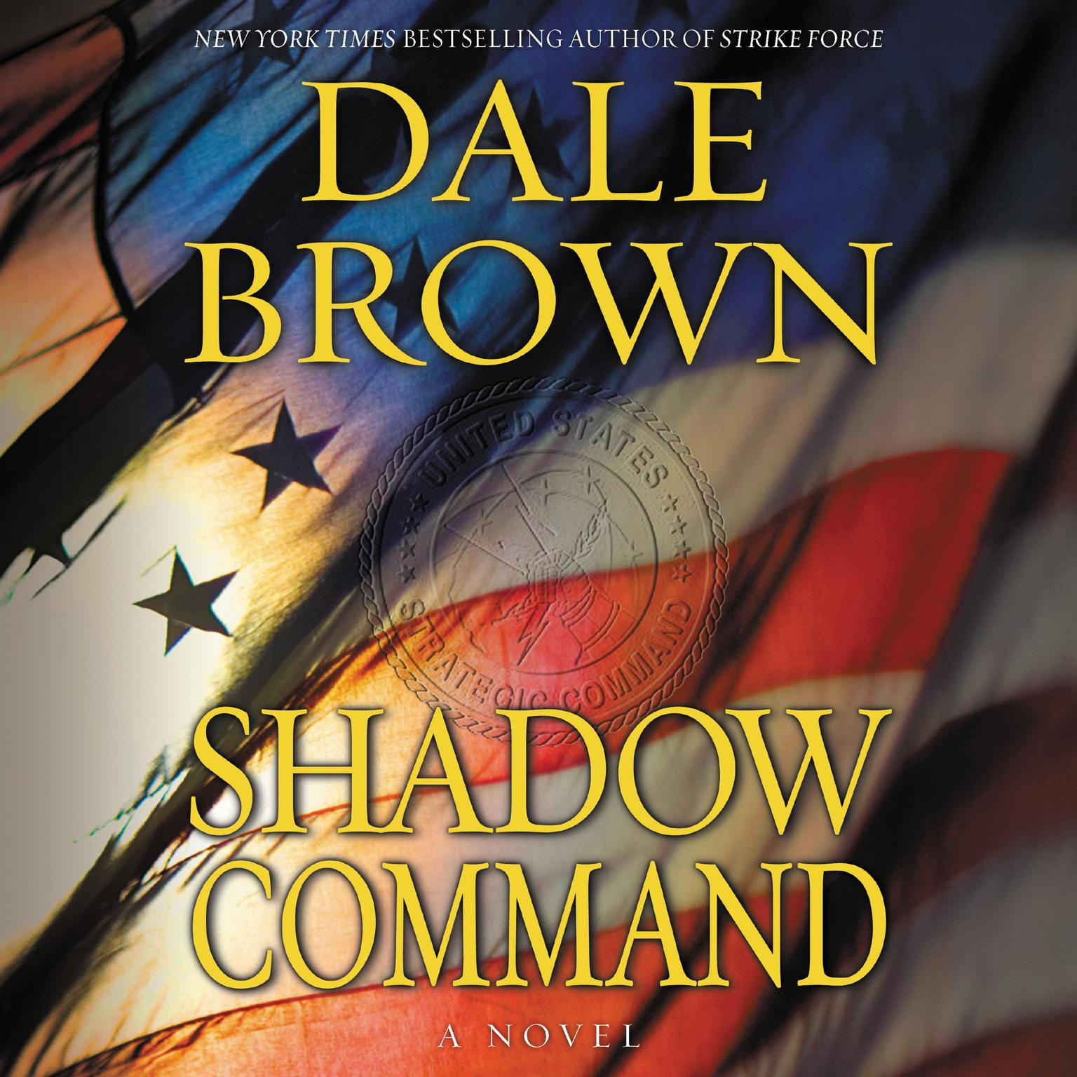 Printable Shadow Command: A Novel Audiobook Cover Art