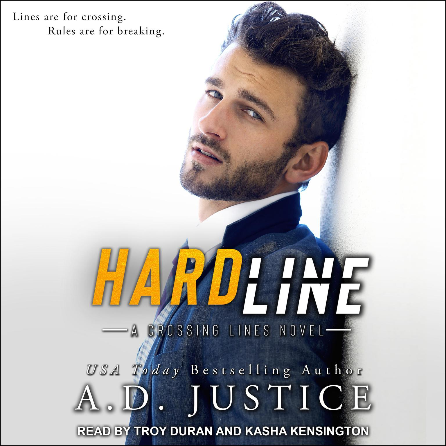 Hard Line Audiobook, by A.D. Justice