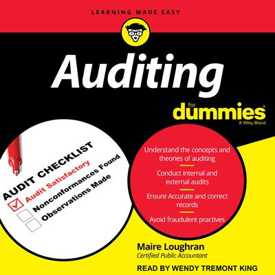 Auditing for Dummies Audiobook, by