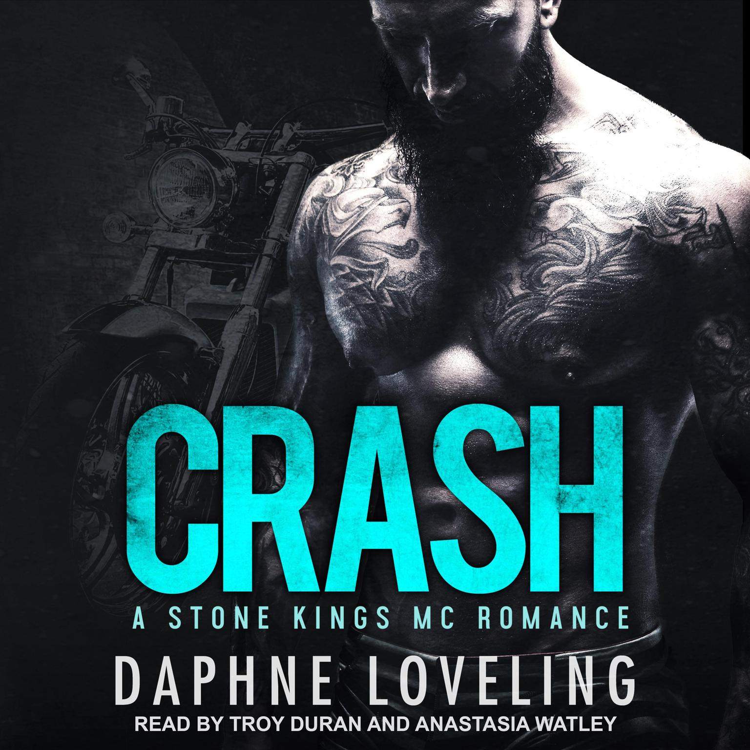 Printable CRASH Audiobook Cover Art