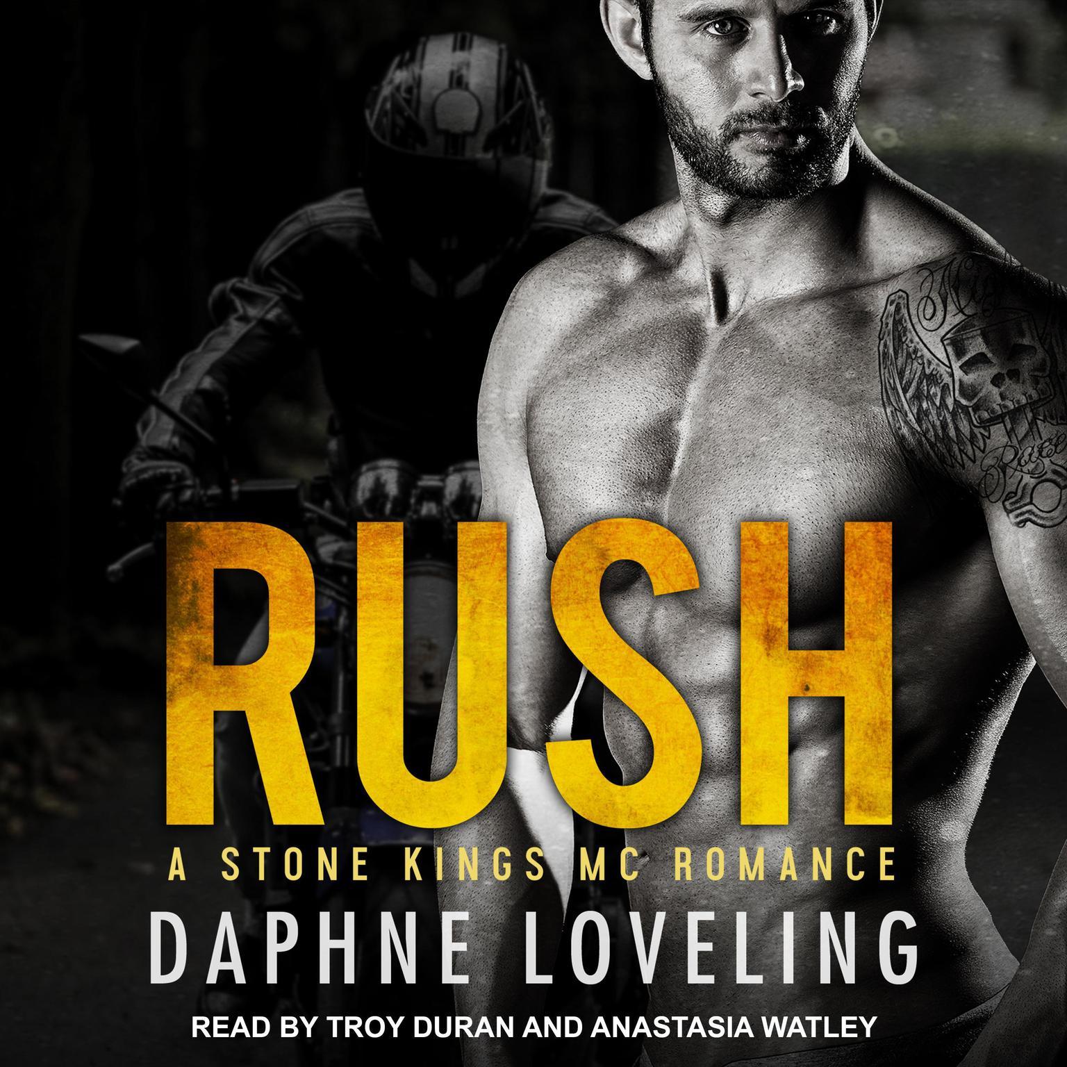 Printable RUSH Audiobook Cover Art
