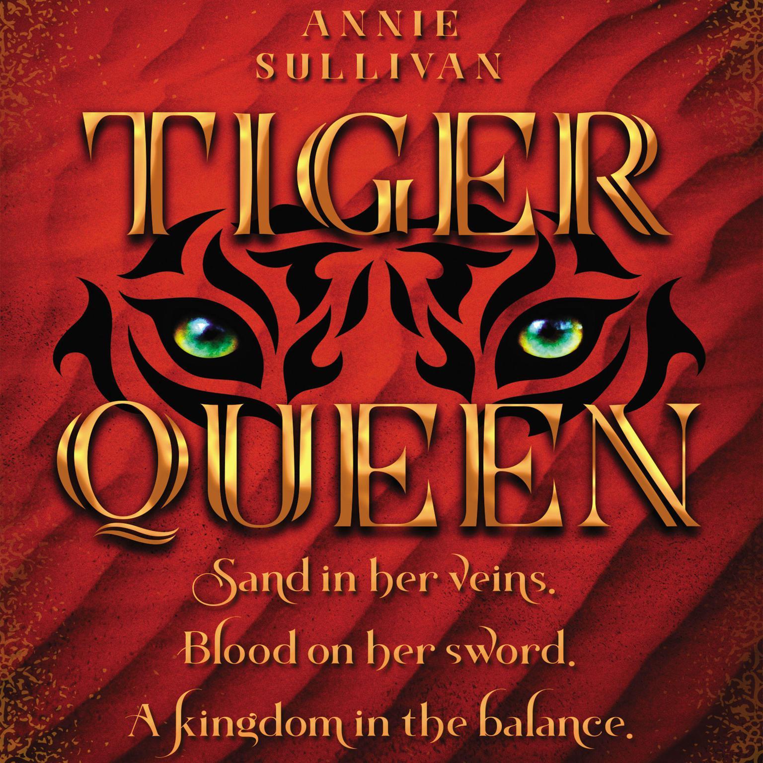 Printable Tiger Queen Audiobook Cover Art