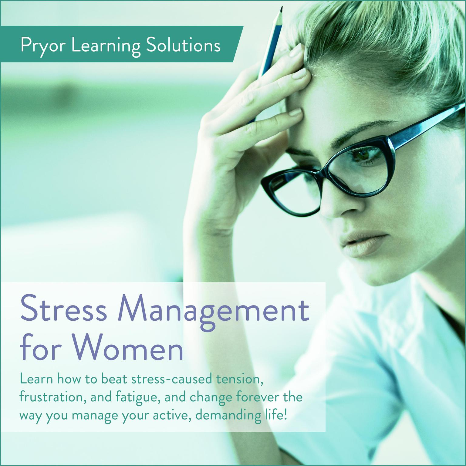 Printable Stress Management For Women Audiobook Cover Art