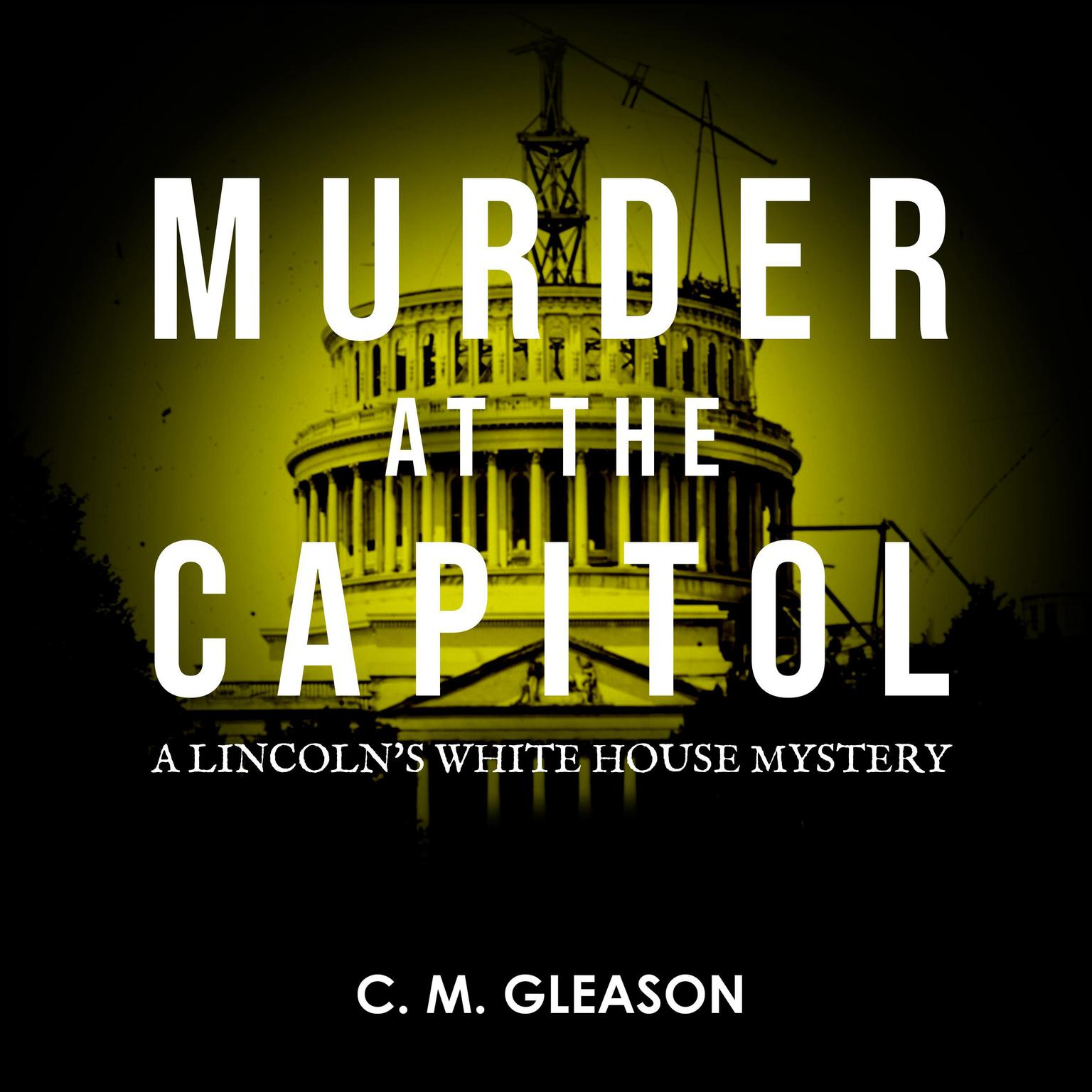 Printable Murder at the Capitol Audiobook Cover Art