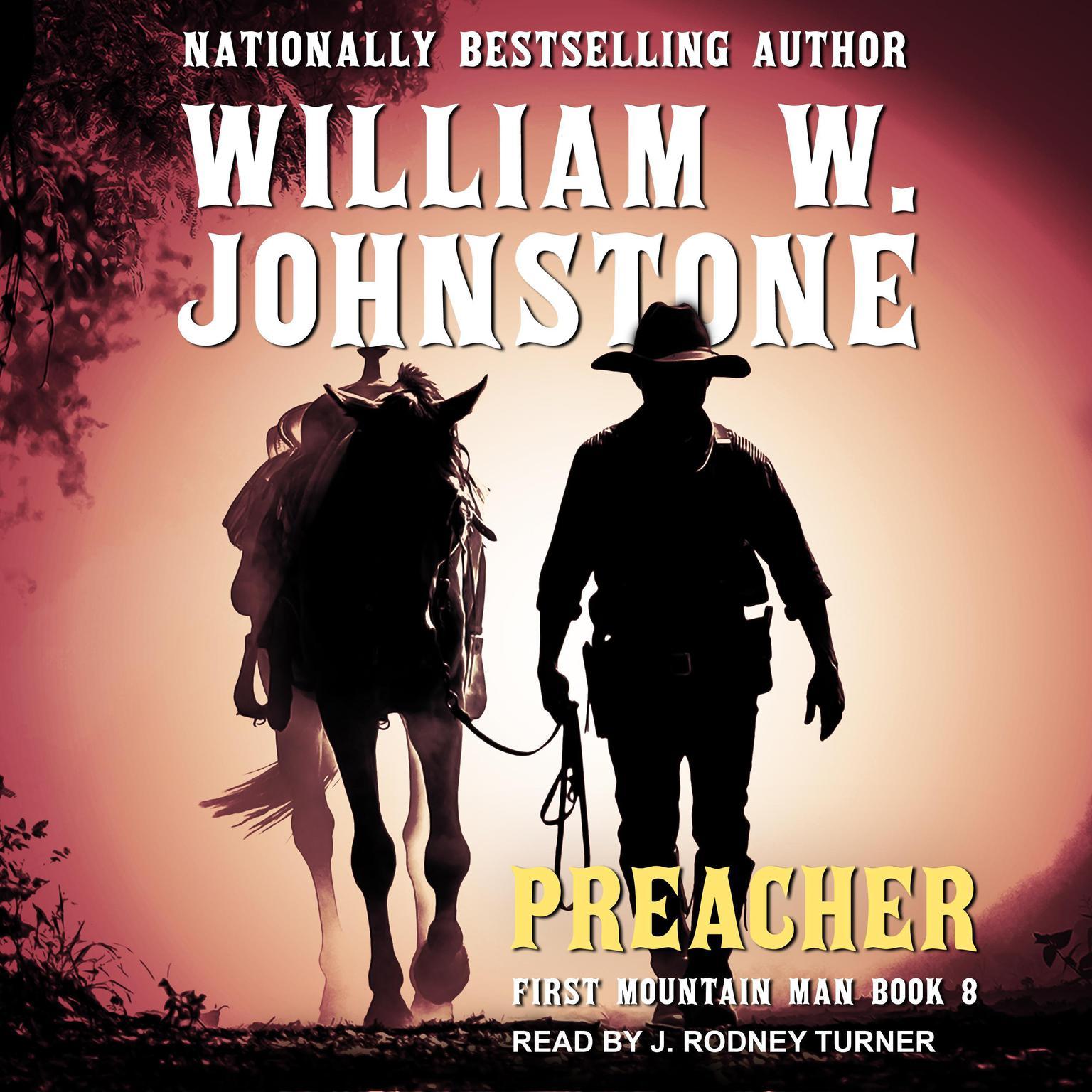 Printable Preacher Audiobook Cover Art