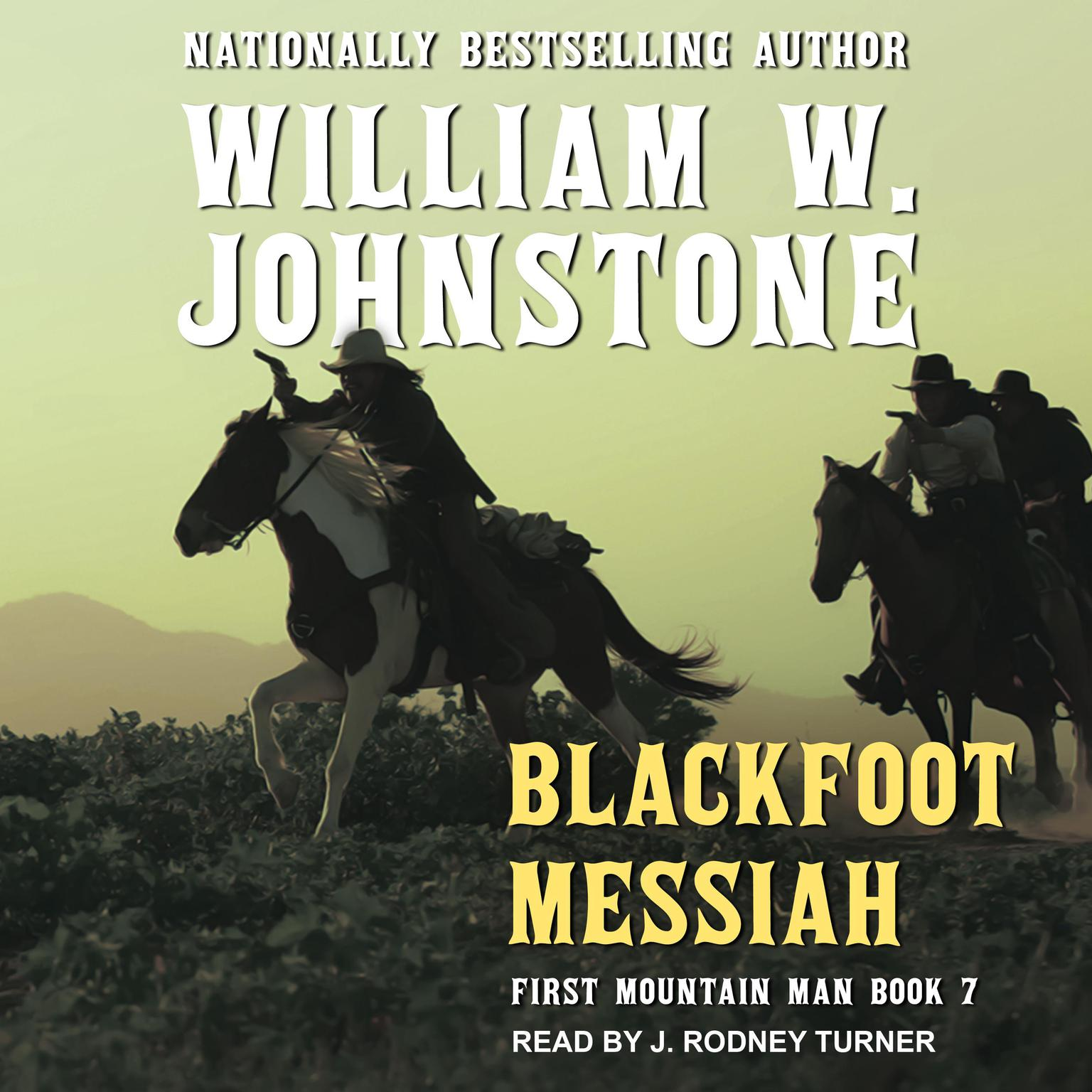 Printable Blackfoot Messiah Audiobook Cover Art