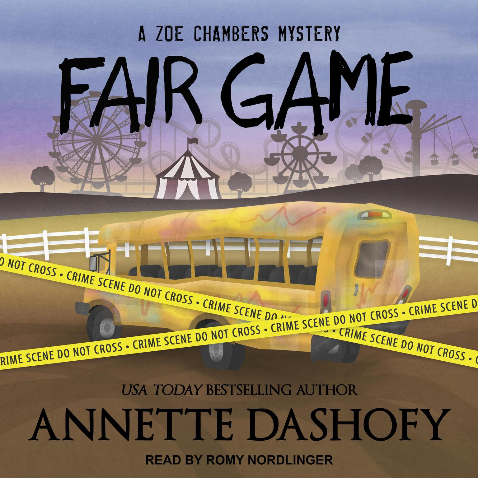 Printable Fair Game Audiobook Cover Art