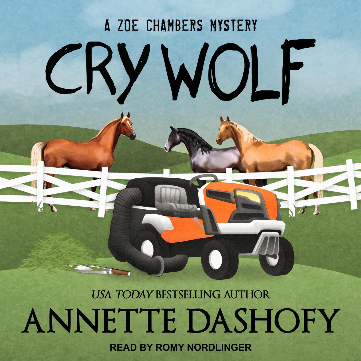 Printable Cry Wolf Audiobook Cover Art
