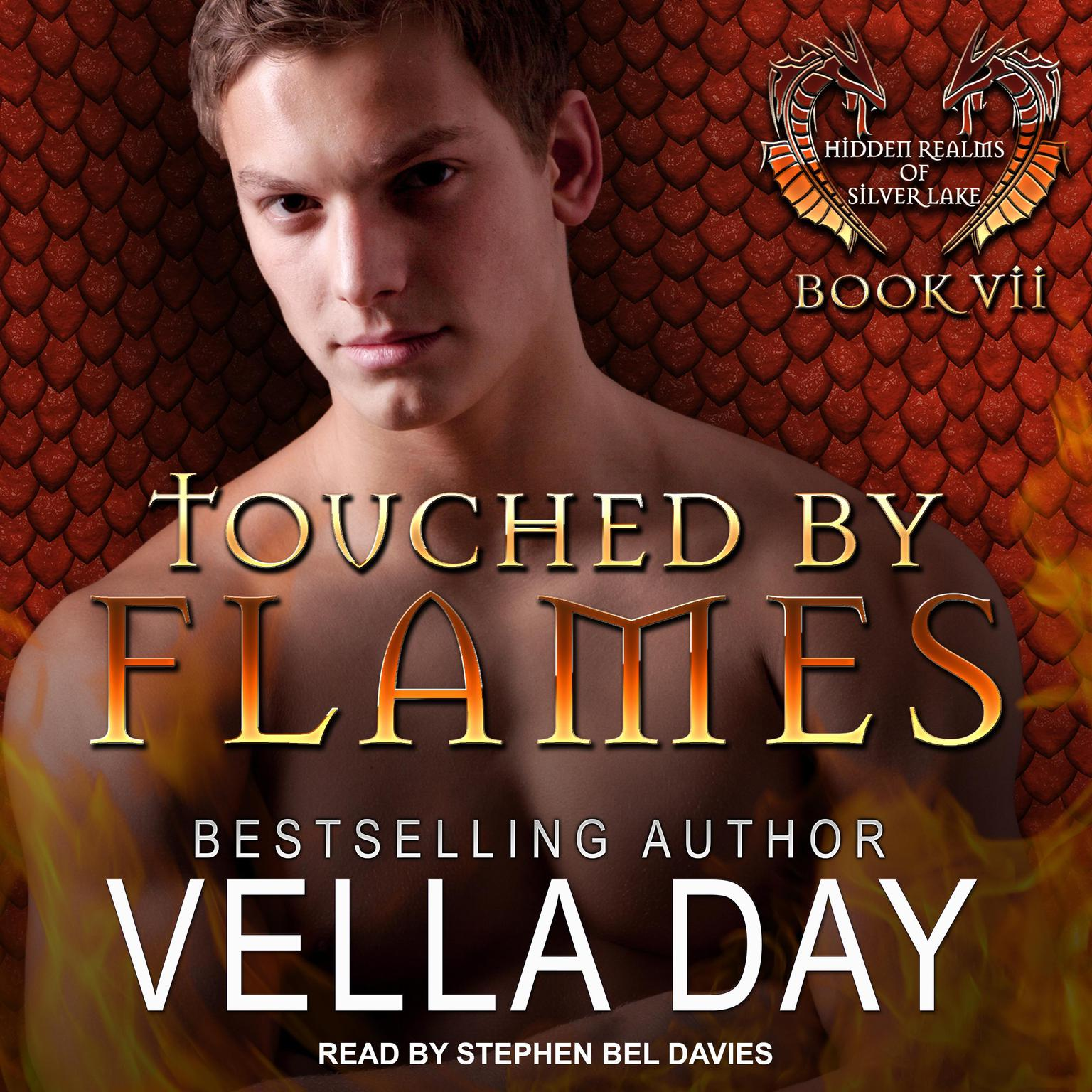 Printable Touched By Flames Audiobook Cover Art