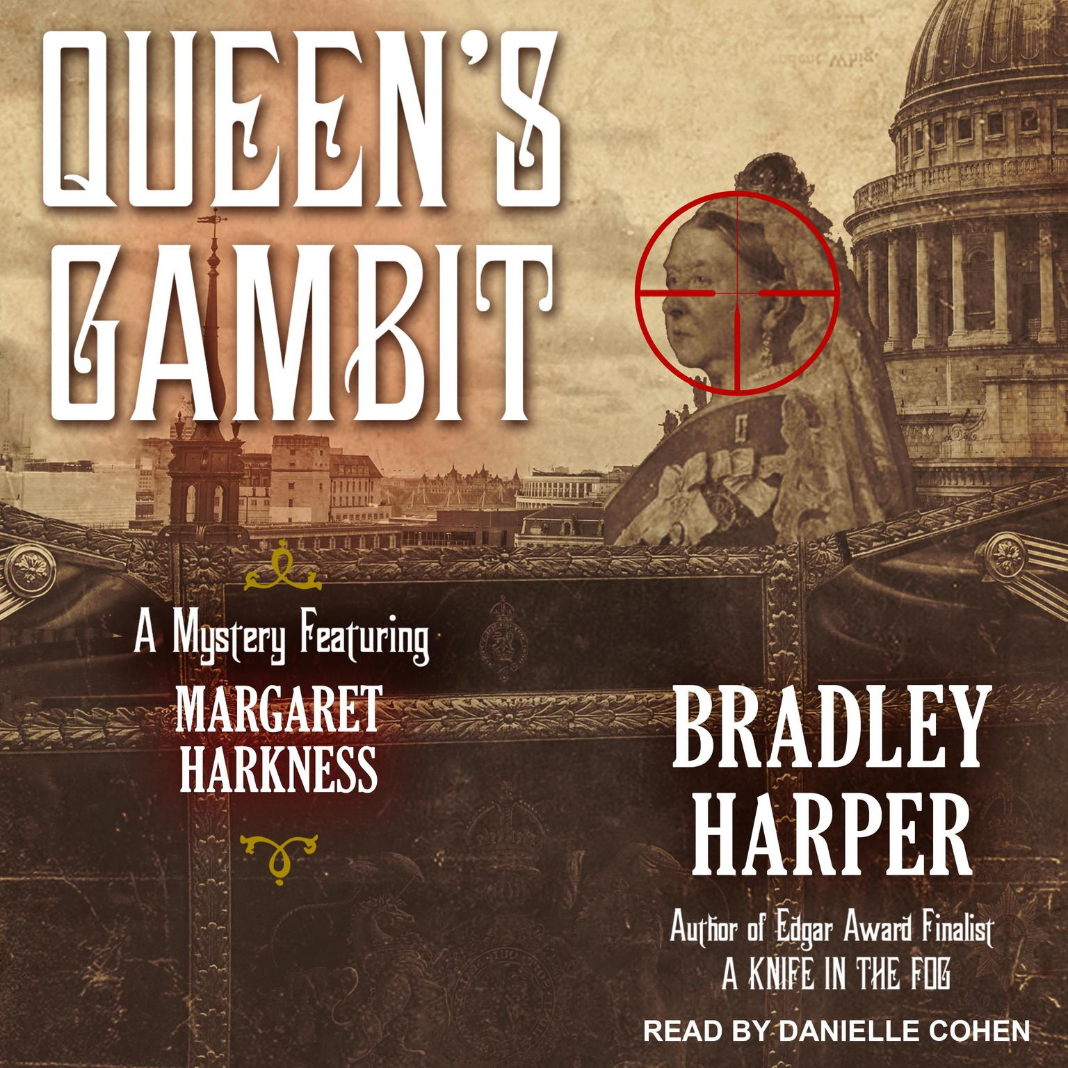 Printable Queen's Gambit Audiobook Cover Art
