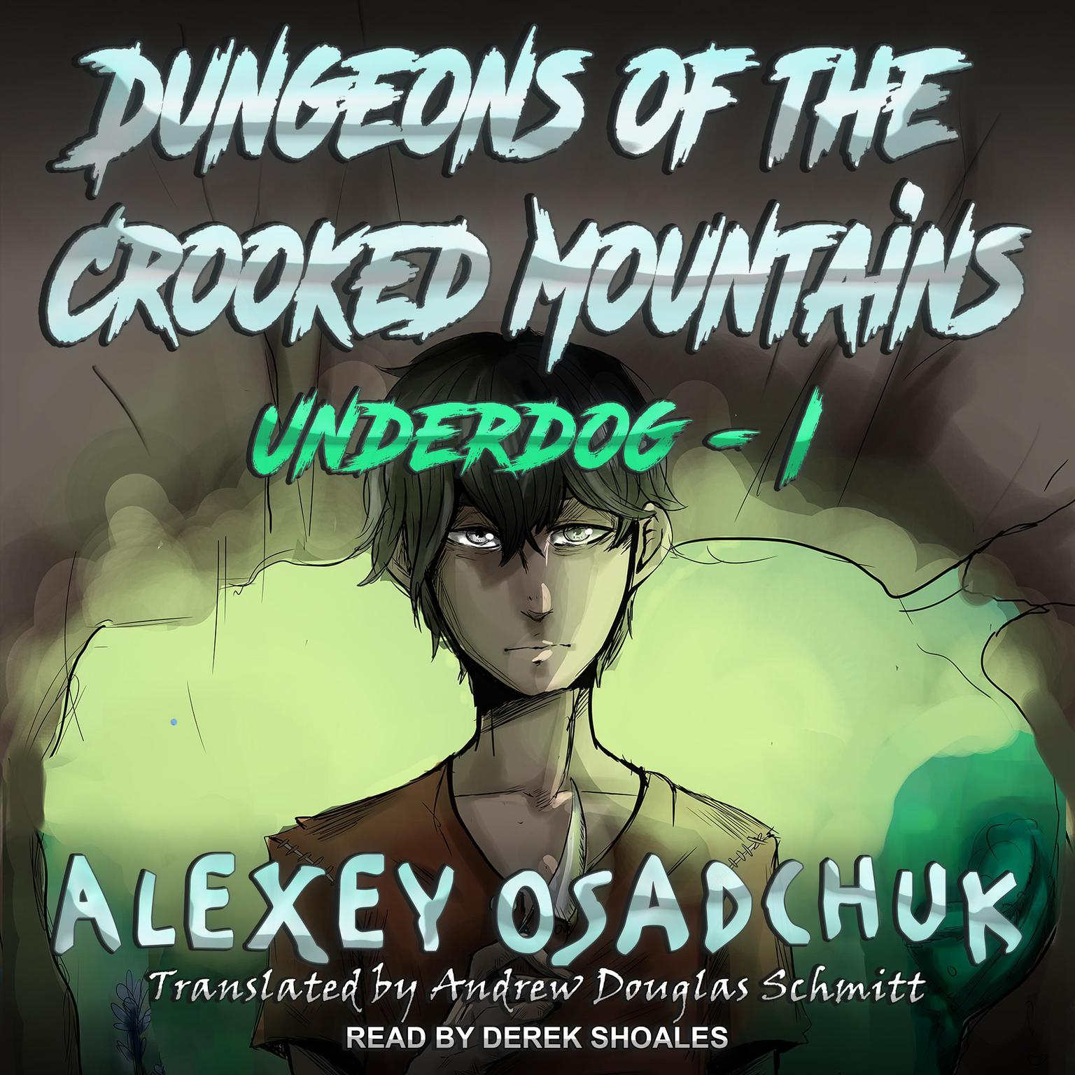 Printable Dungeons of the Crooked Mountains Audiobook Cover Art