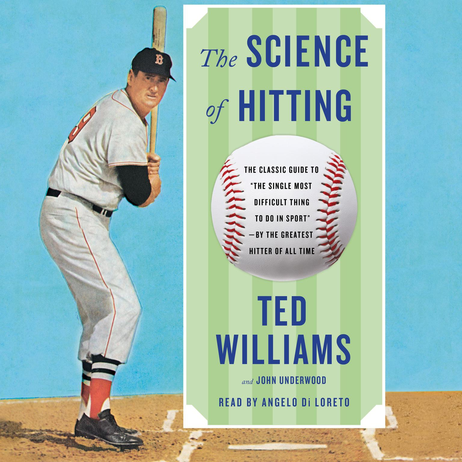 Printable Science of Hitting Audiobook Cover Art