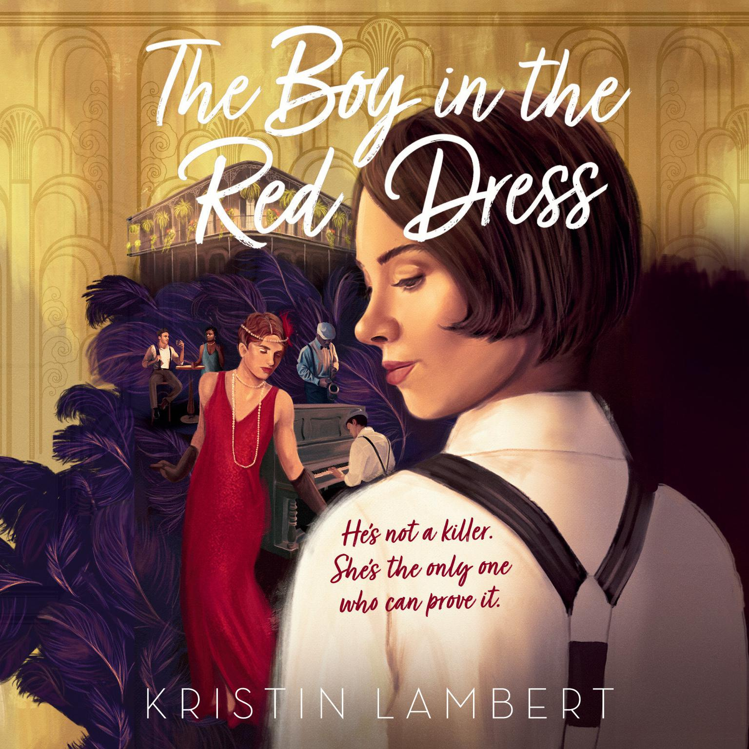 Printable The Boy in the Red Dress Audiobook Cover Art