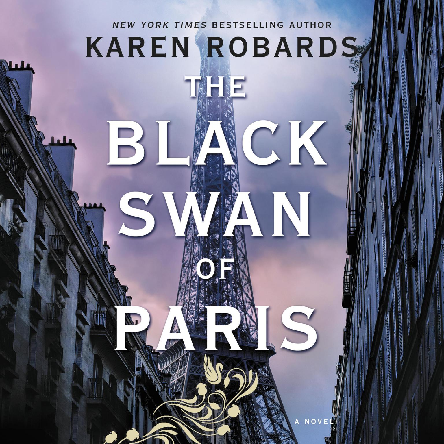 Printable The Black Swan of Paris Audiobook Cover Art