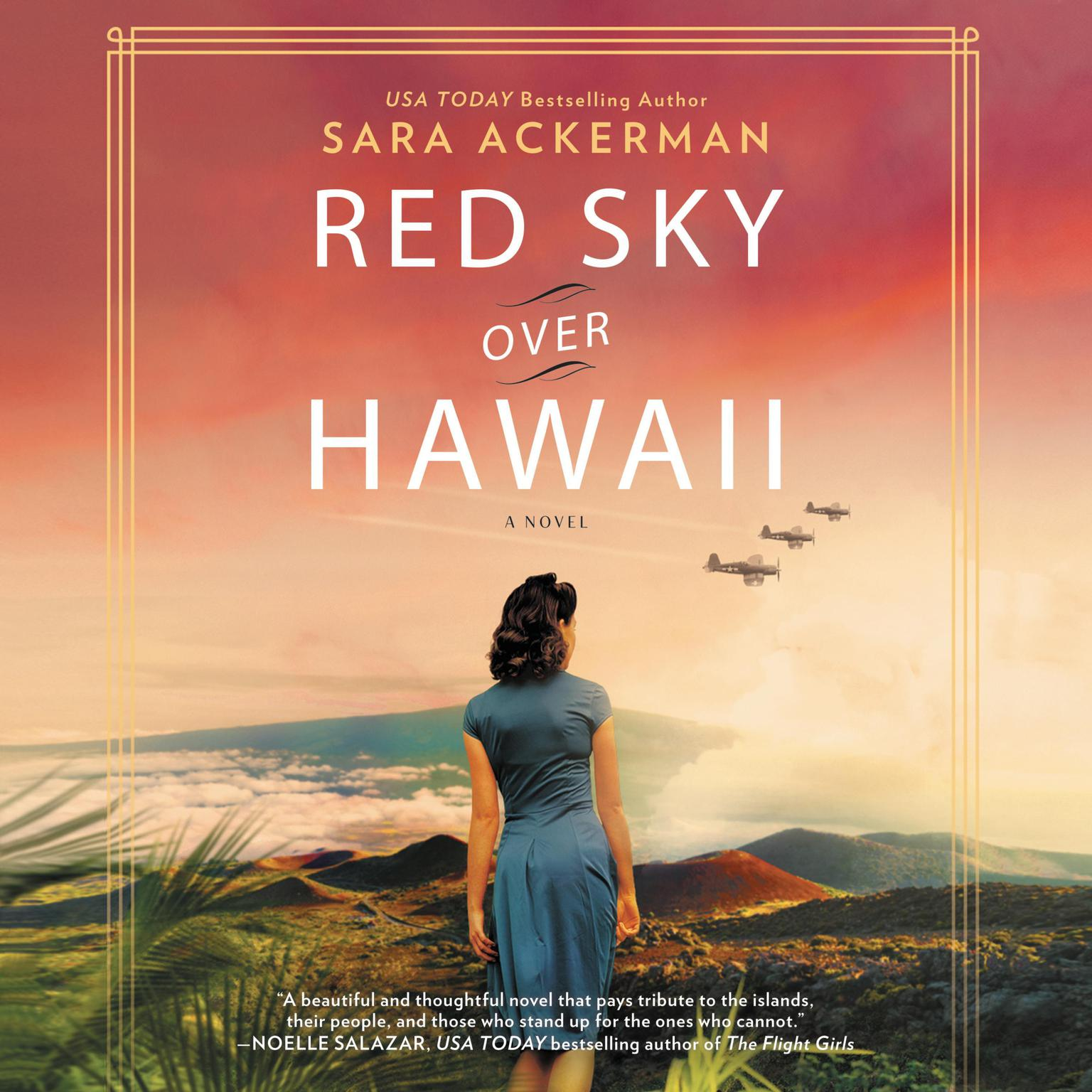 Red Sky Over Hawaii Audiobook, by Sara Ackerman