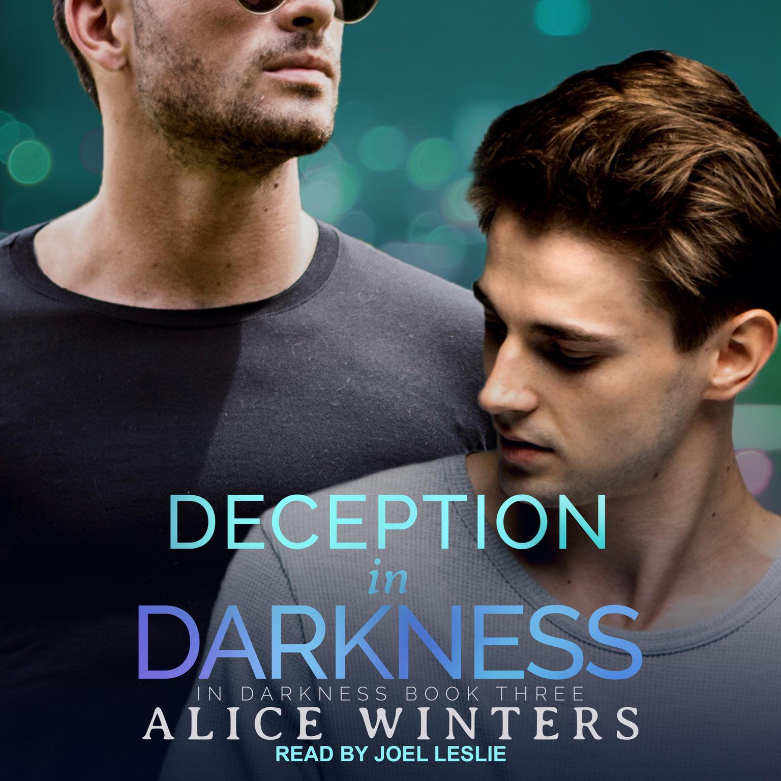 Printable Deception in Darkness Audiobook Cover Art