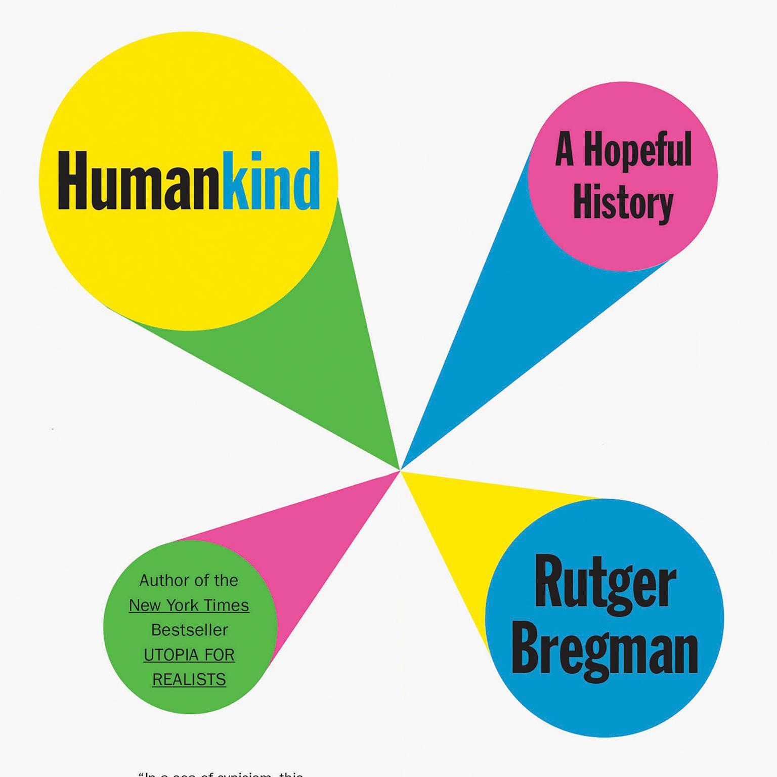 Printable Humankind: A Hopeful History Audiobook Cover Art
