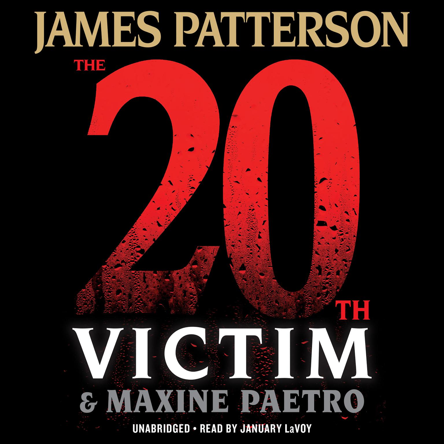 Printable The 20th Victim Audiobook Cover Art