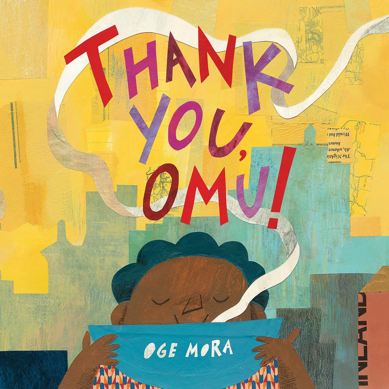 Printable Thank You, Omu! Audiobook Cover Art