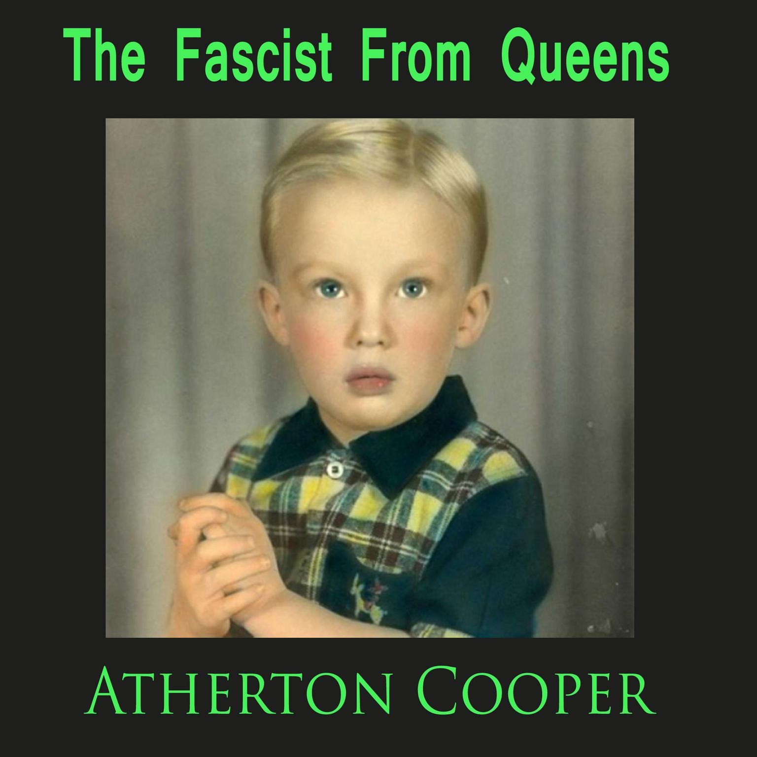 Printable The Fascist From Queens Audiobook Cover Art