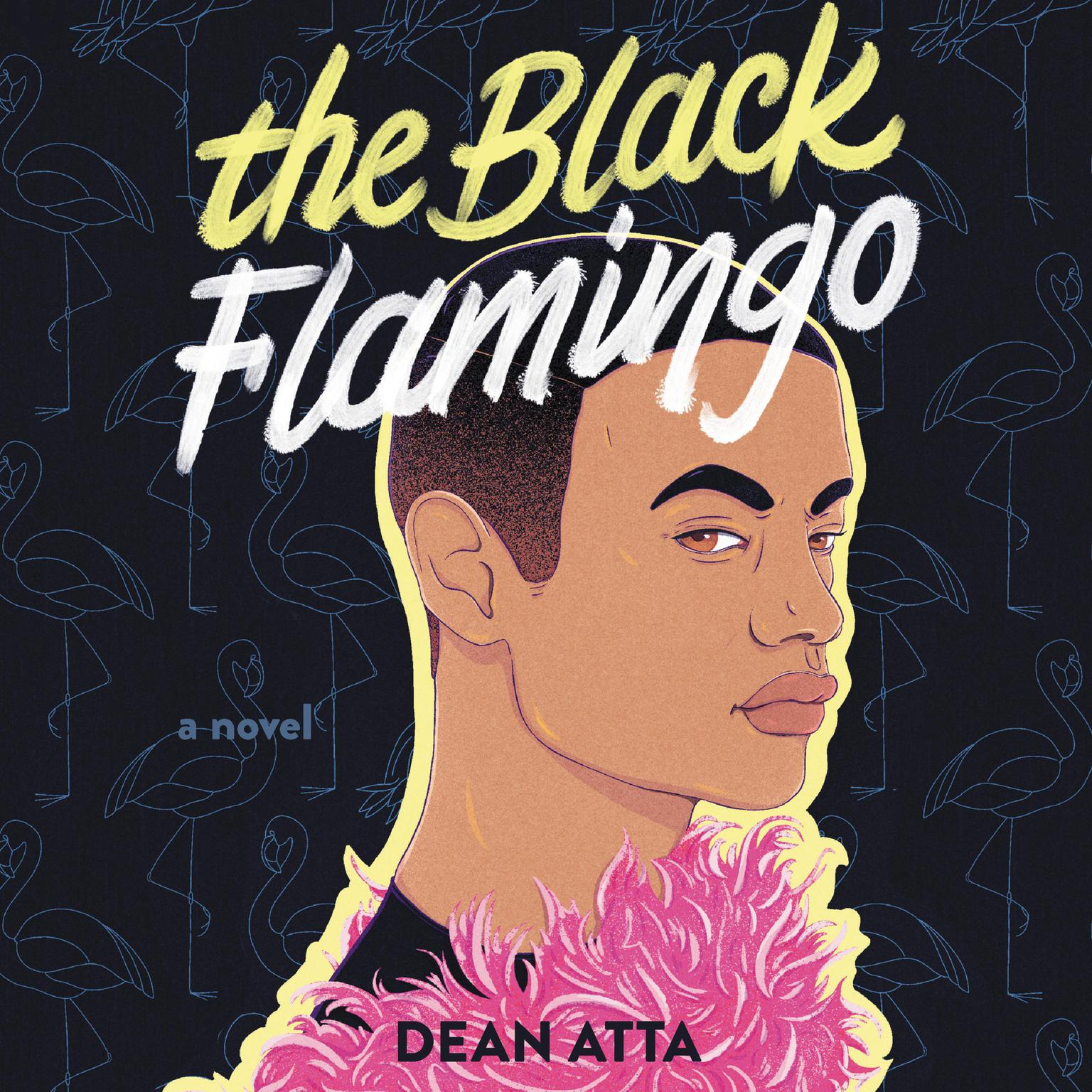 Printable The Black Flamingo Audiobook Cover Art