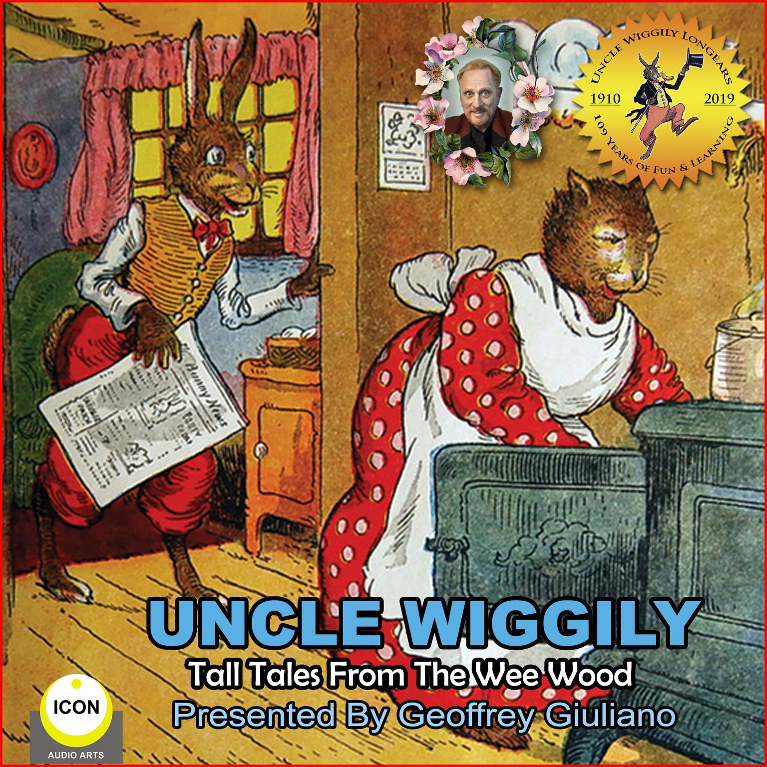 Printable Uncle Wiggily Tall Tales From The Wee Wood Audiobook Cover Art