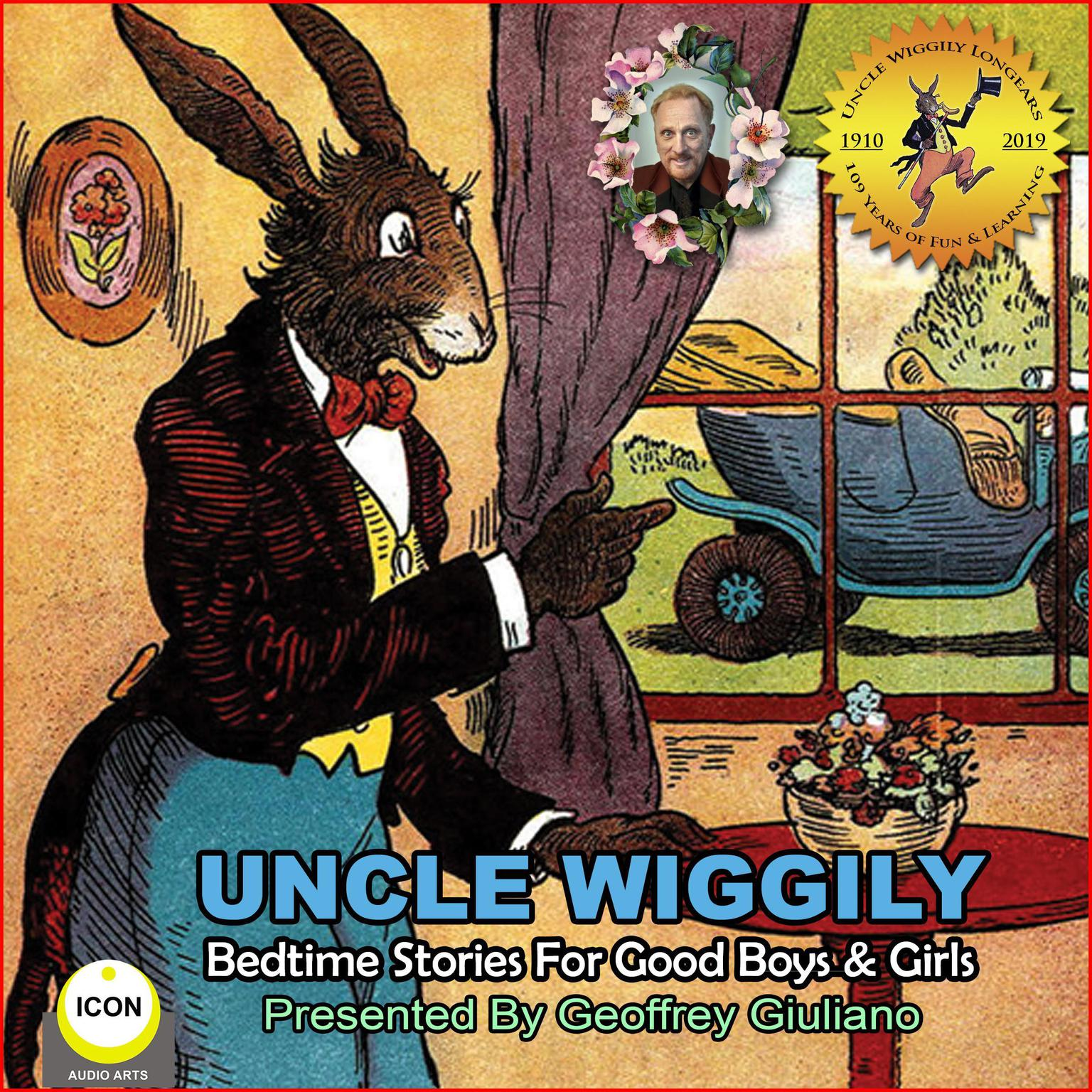 Printable Uncle Wiggily Bedtime Stories For Good Boys & Girls Audiobook Cover Art