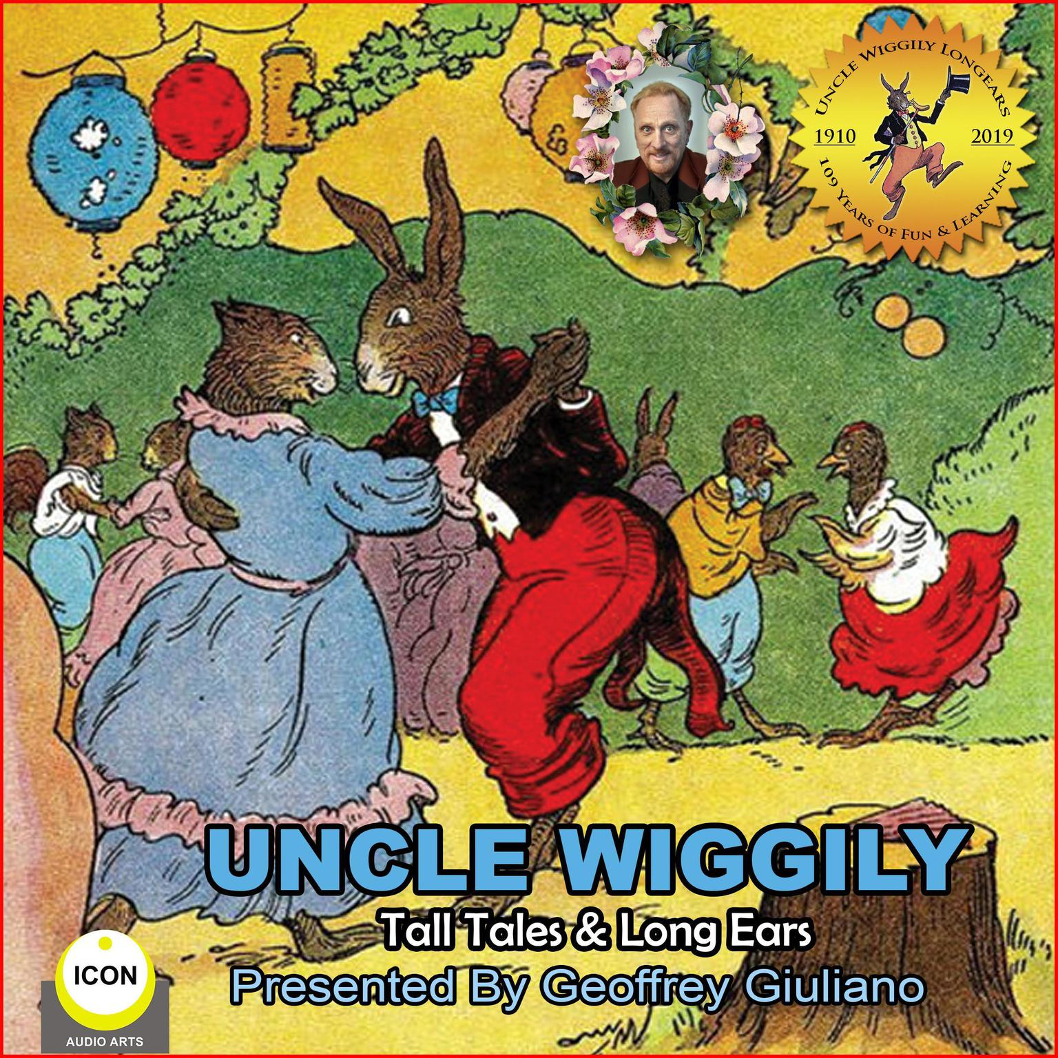 Printable Uncle Wiggily Tall Tales & Long Ears Audiobook Cover Art