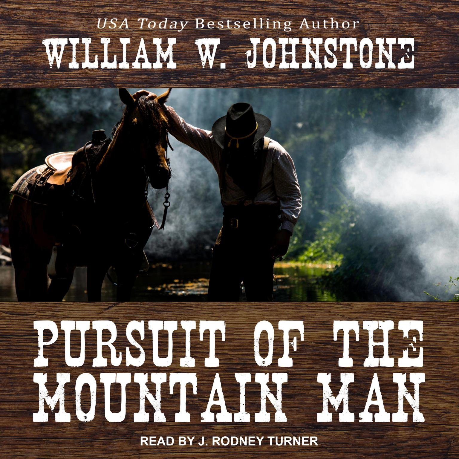 Printable Pursuit of the Mountain Man Audiobook Cover Art