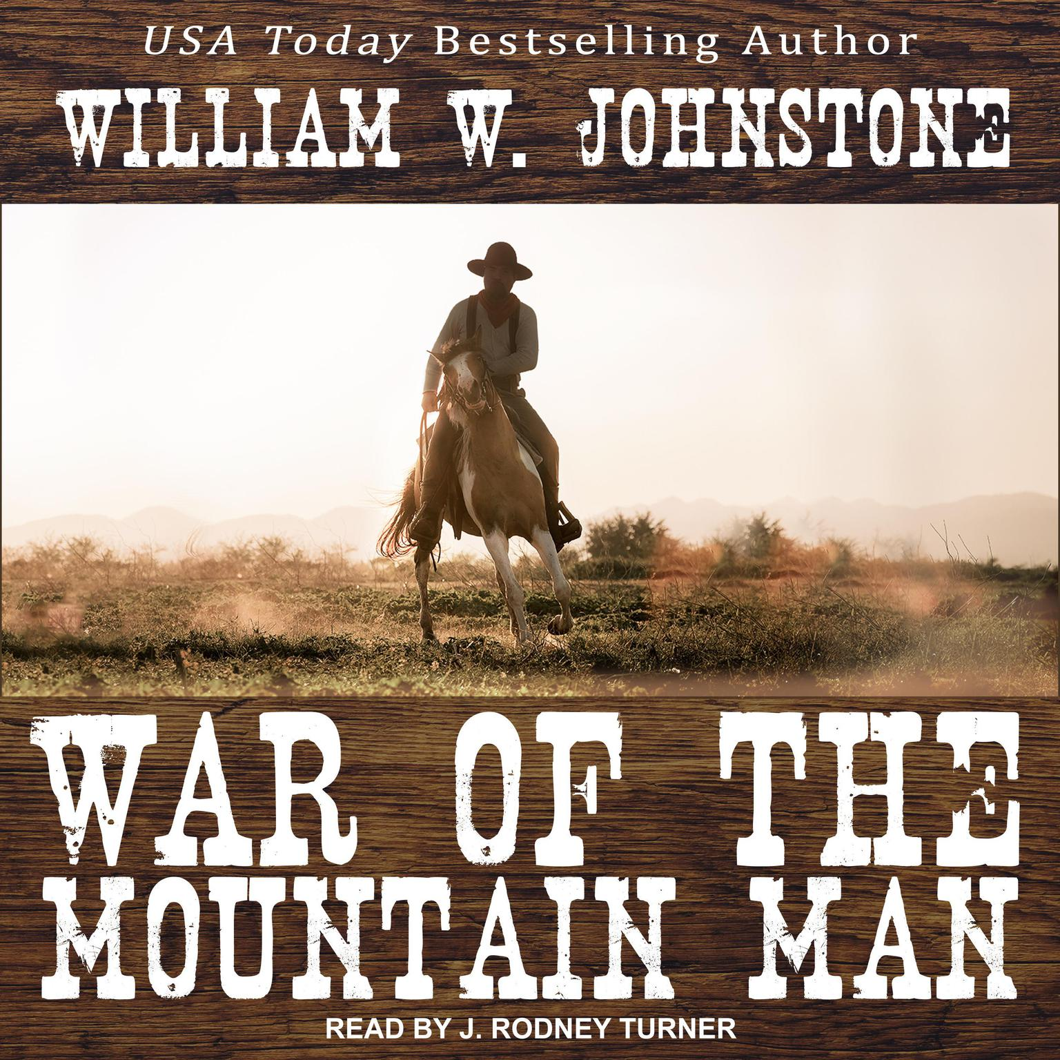 Printable War of the Mountain Man Audiobook Cover Art
