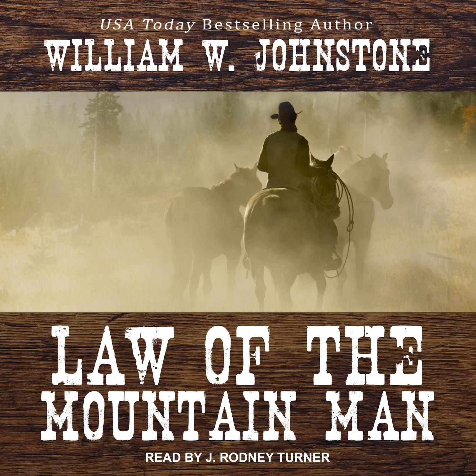 Printable Law of the Mountain Man Audiobook Cover Art