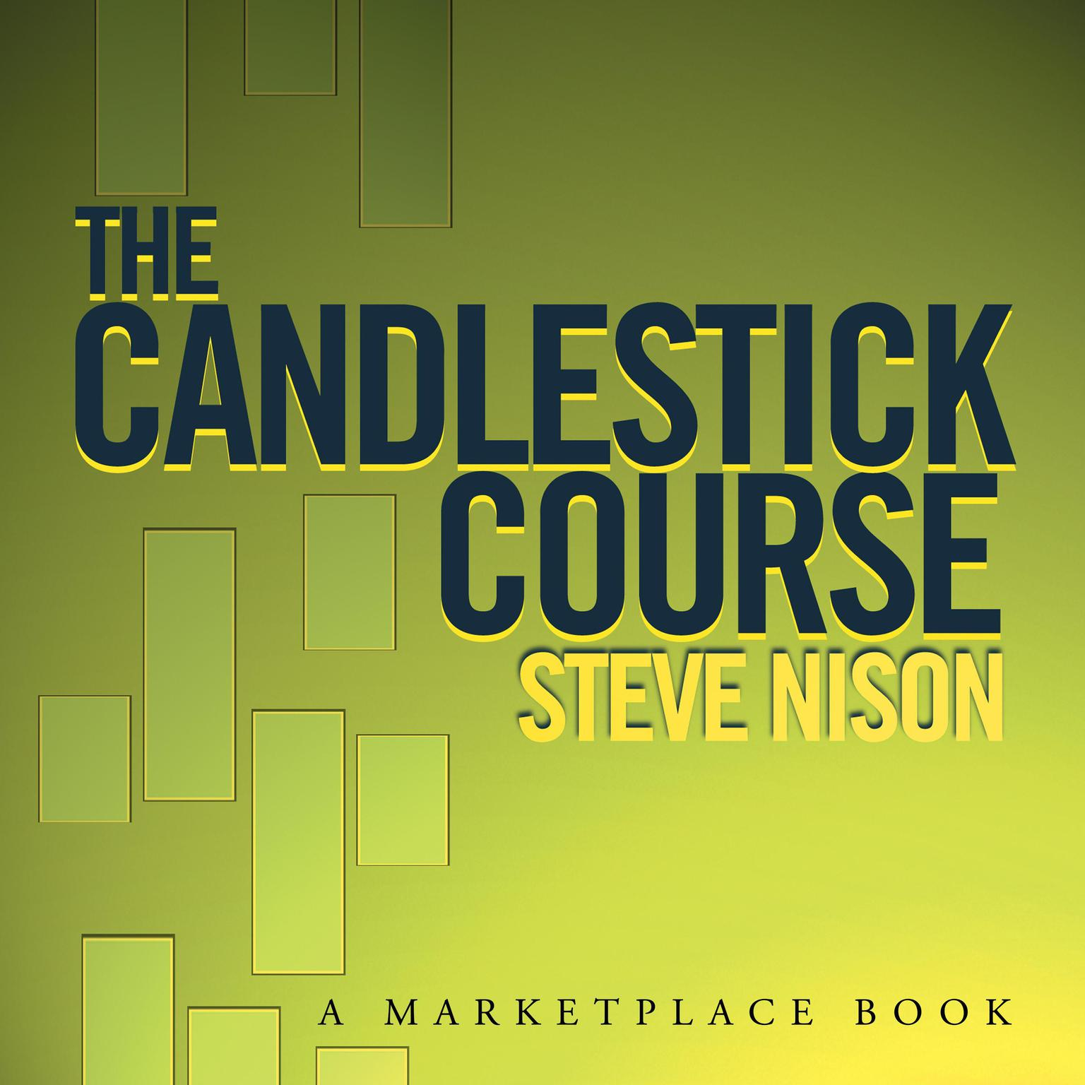 Printable The Candlestick Course Audiobook Cover Art