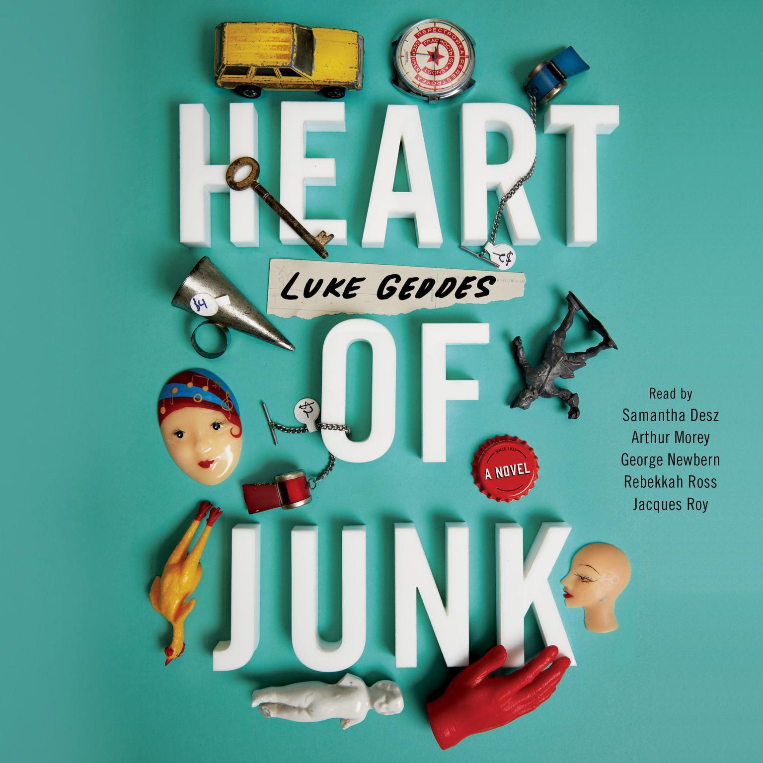 Heart of Junk Audiobook, by Luke Geddes