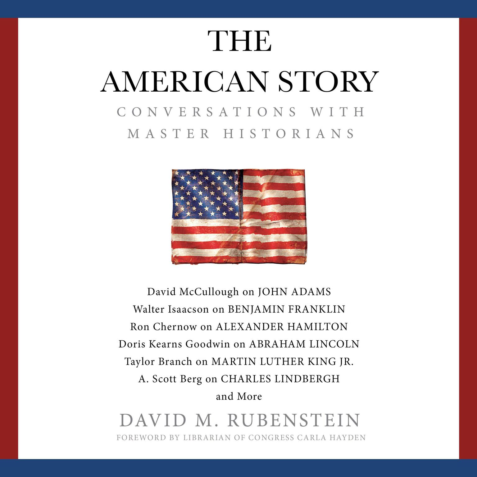 Printable The American Story: Conversations with Master Historians Audiobook Cover Art
