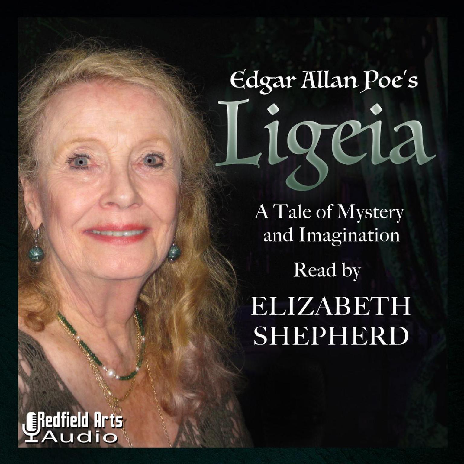 Printable Edgar Allan Poe's Ligeia: A Tale of Mystery and Imagination Audiobook Cover Art