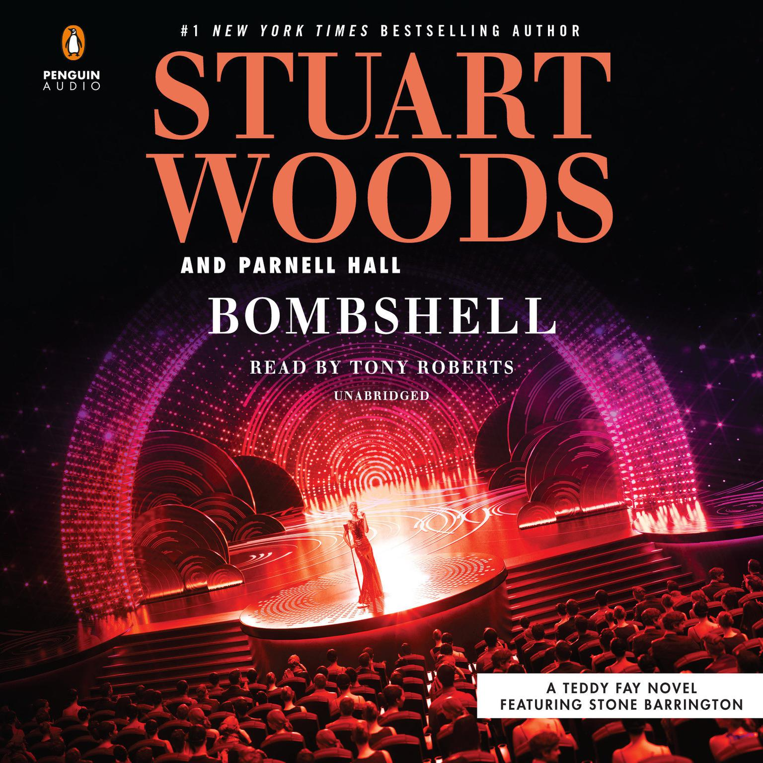 Printable Bombshell Audiobook Cover Art