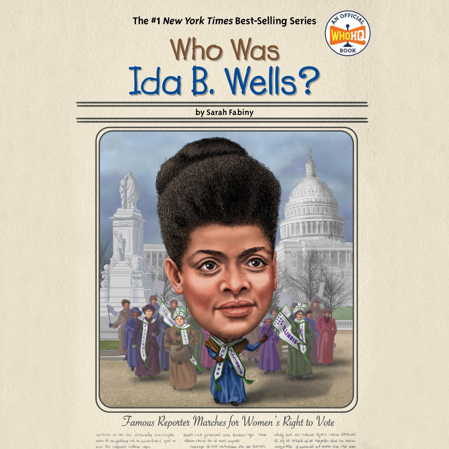 Who Was Ida B. Wells? Audiobook, by Sarah Fabiny