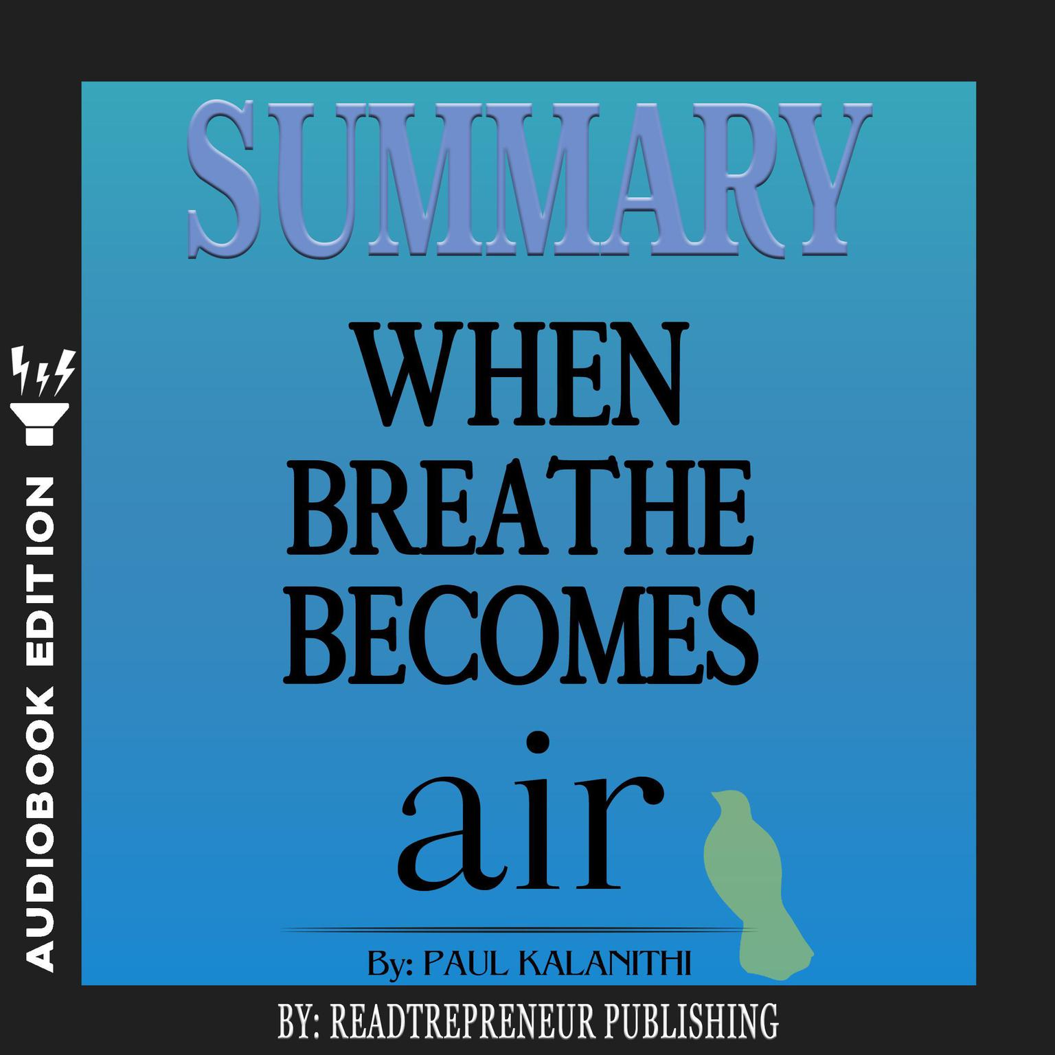 Printable Summary of When Breath Becomes Air by Paul Kalanithi Audiobook Cover Art