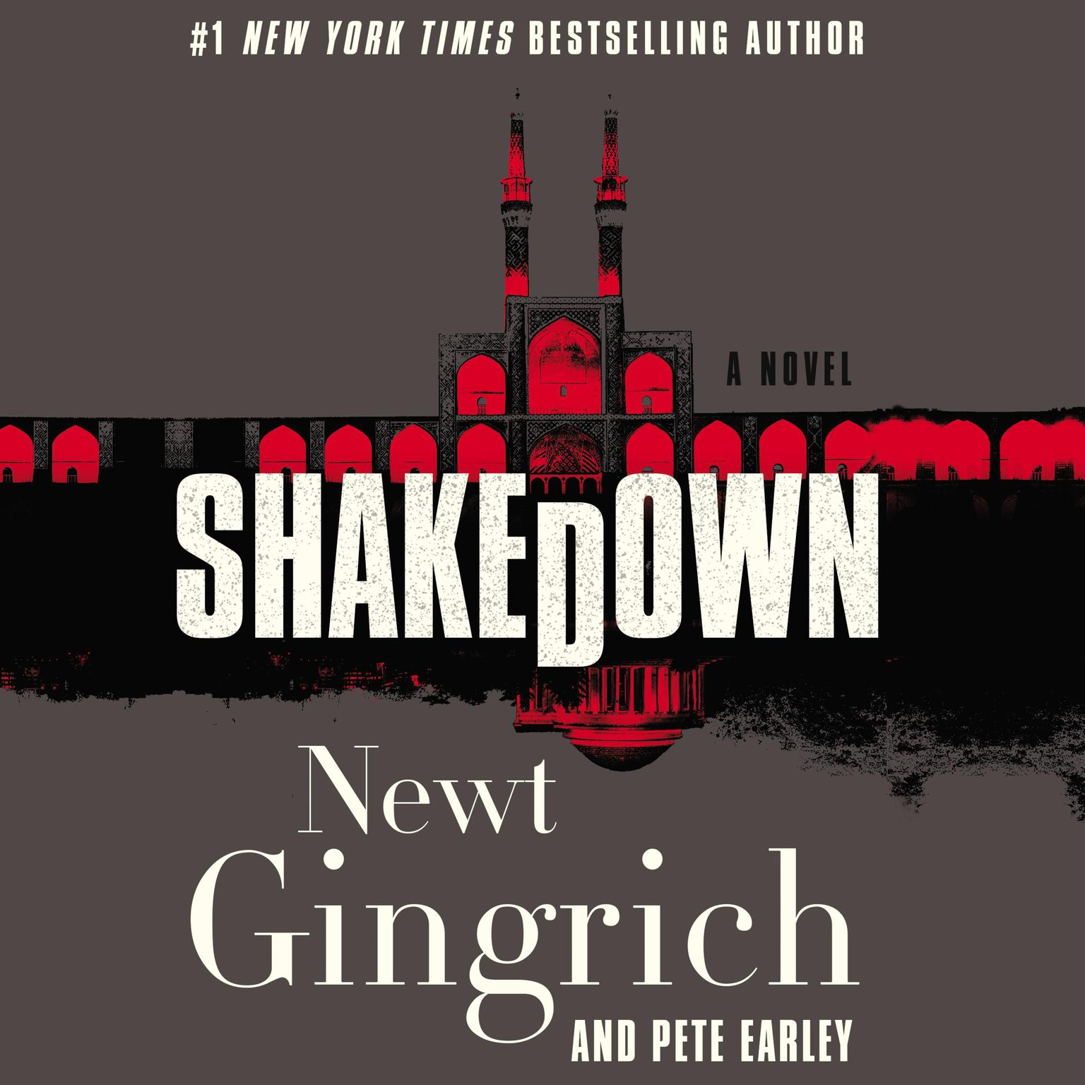 Printable Shakedown: A Novel Audiobook Cover Art