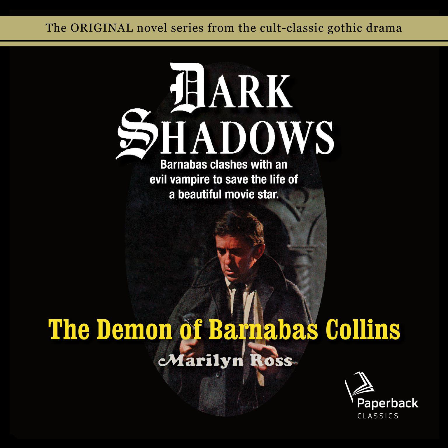 Printable The Demon of Barnabas Collins Audiobook Cover Art
